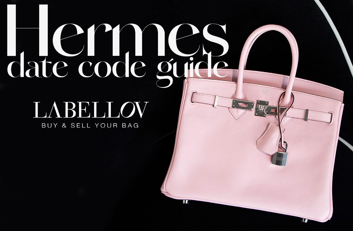 Hermès Date Code Guide 1
