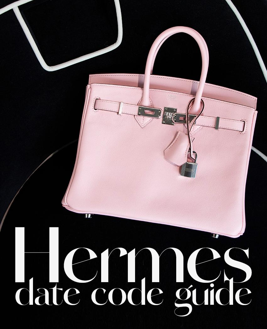 Hermès Date Code Guide