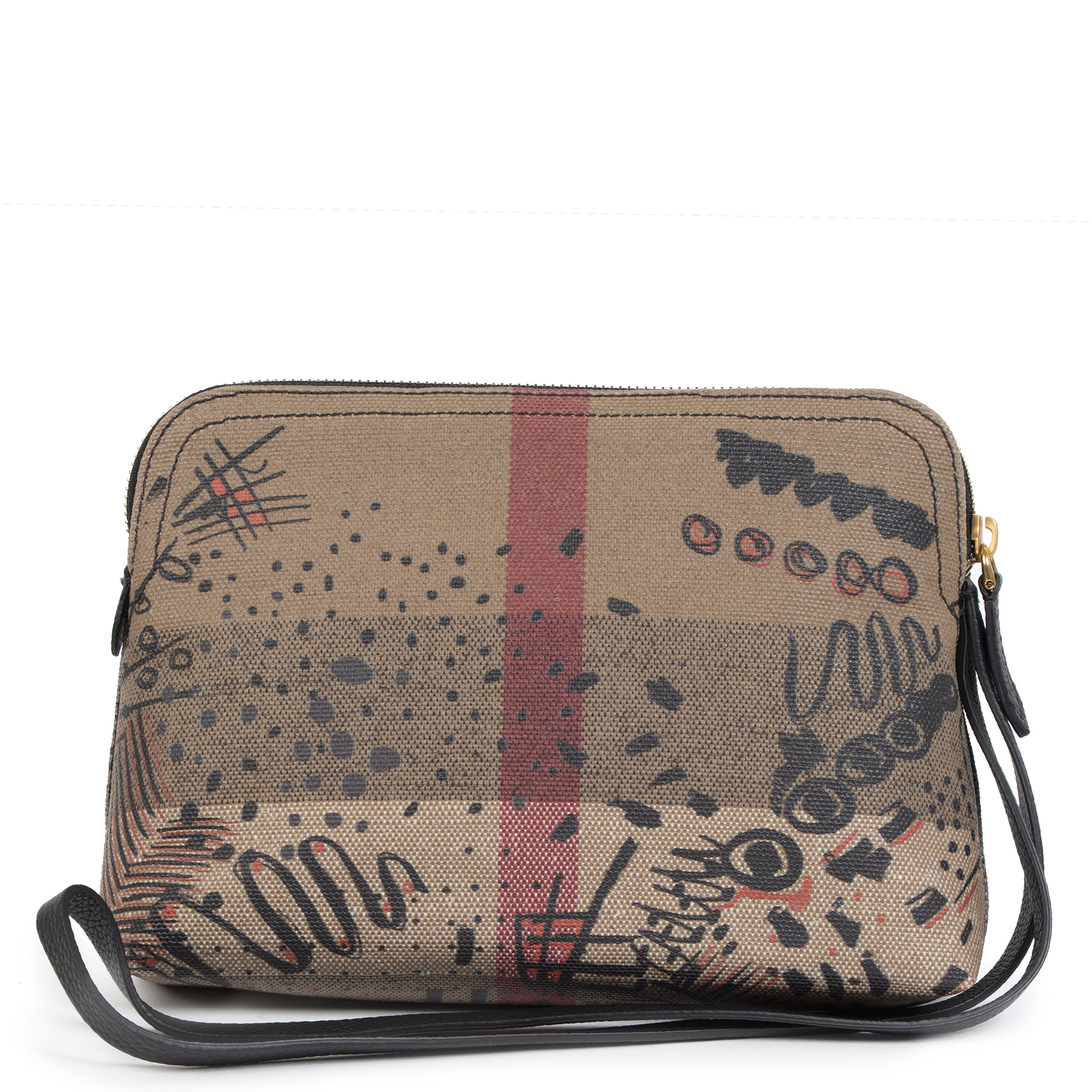 Authentic Burberry Limited Edition Sketch Pouch at the right price online safe and secure online webshop LabelLOV luxury brand LabelLOV Antwerp Belgium