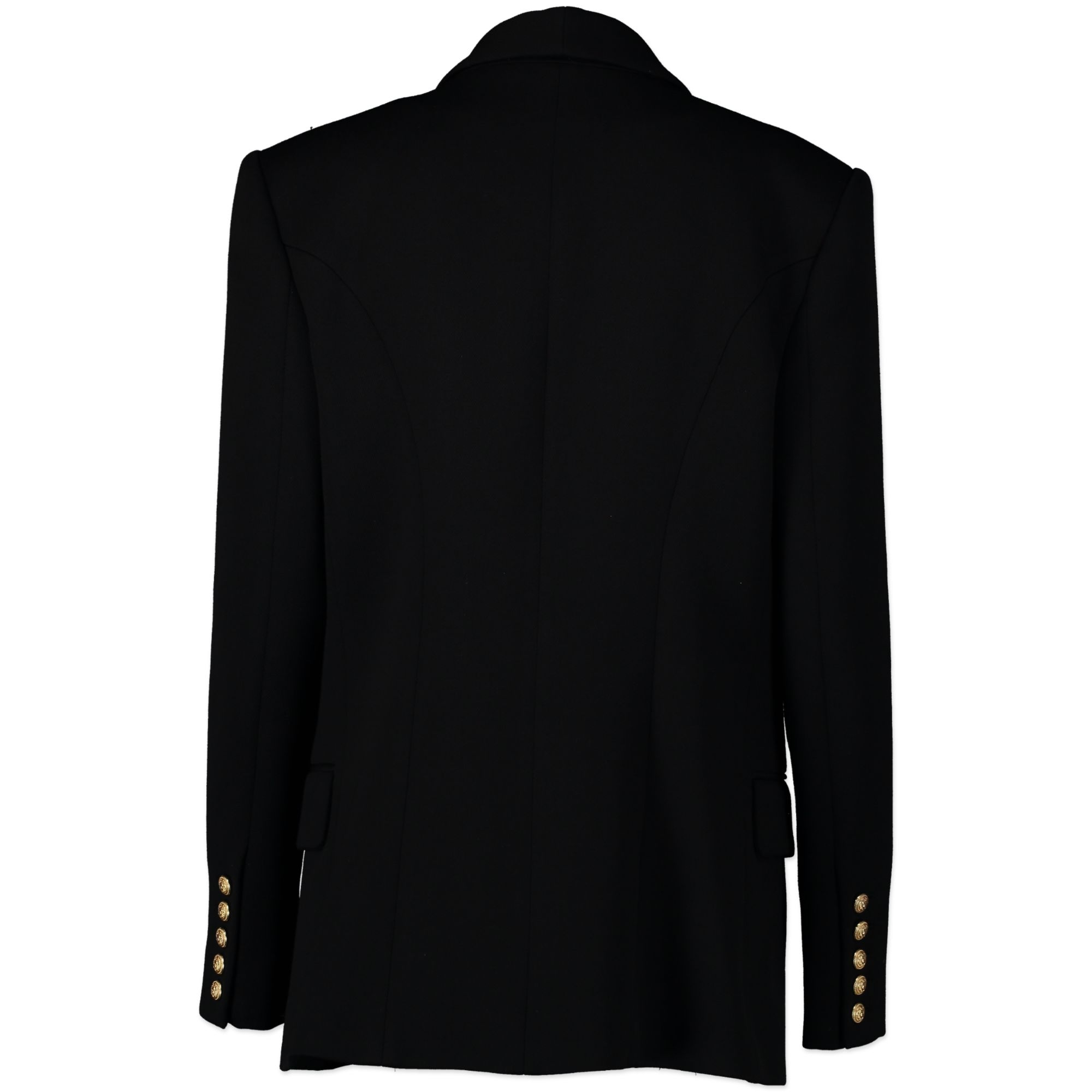 Balmain Black Double Breasted Blazer kopen en verkopen aan de beste prijs bij Labellov tweedehands luxe