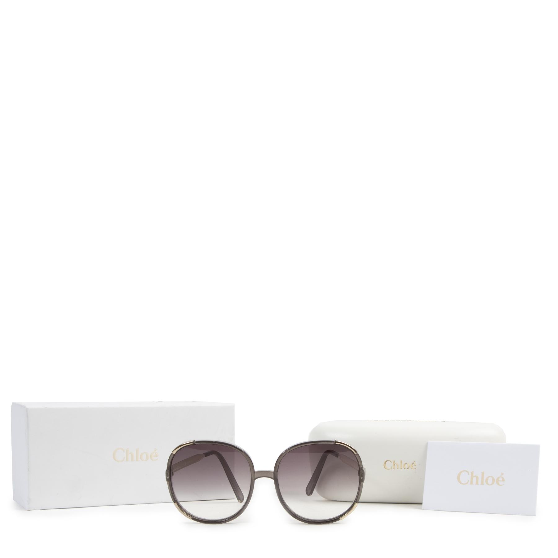 Chloé Myrte Square Sunglasses pour le meilleur prix chez Labellov à Anvers