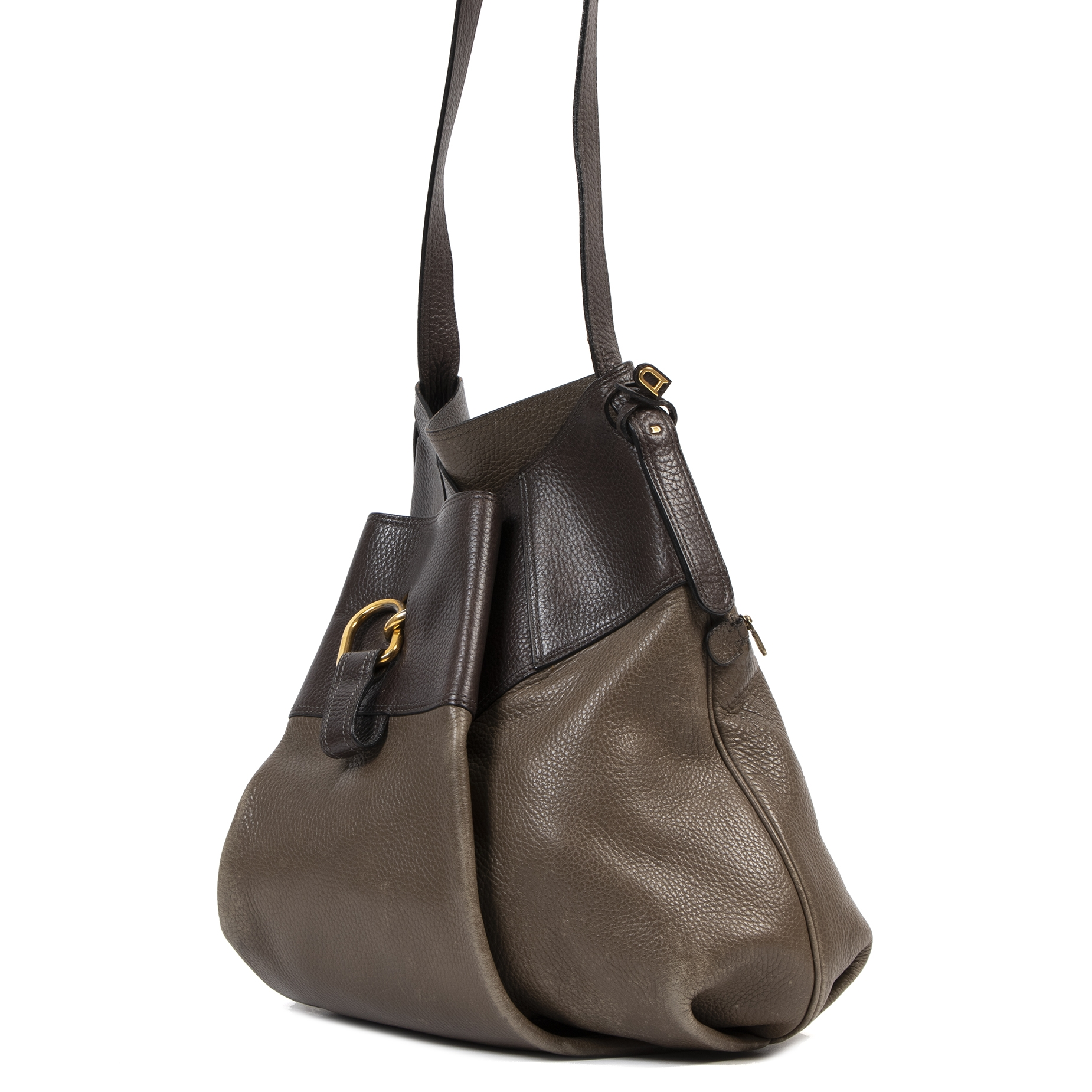 We buy and sell your authentic Delvaux Two Tone Faust Bag