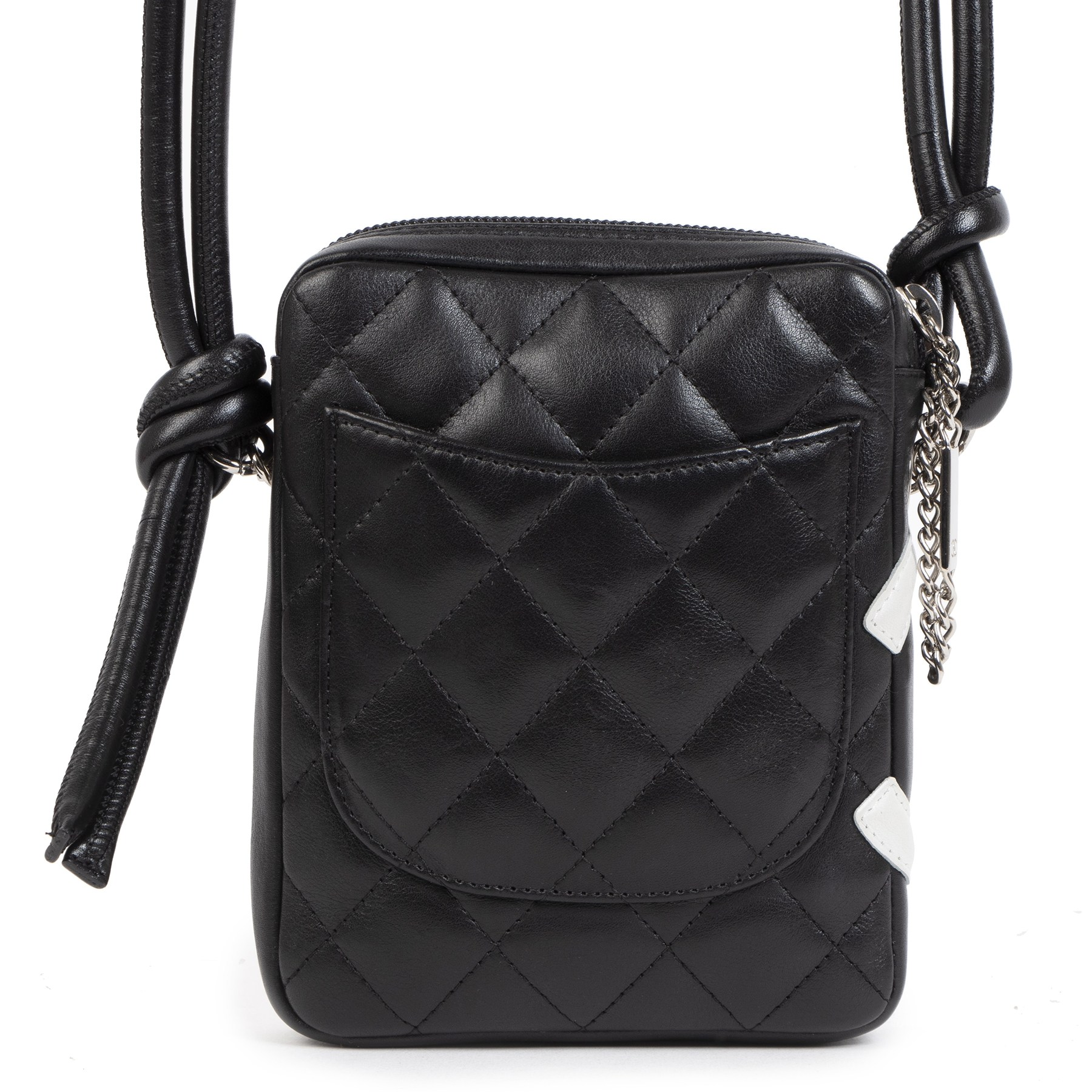 Chanel Cambon Crossbody Bag Quilted Leather Small Bag