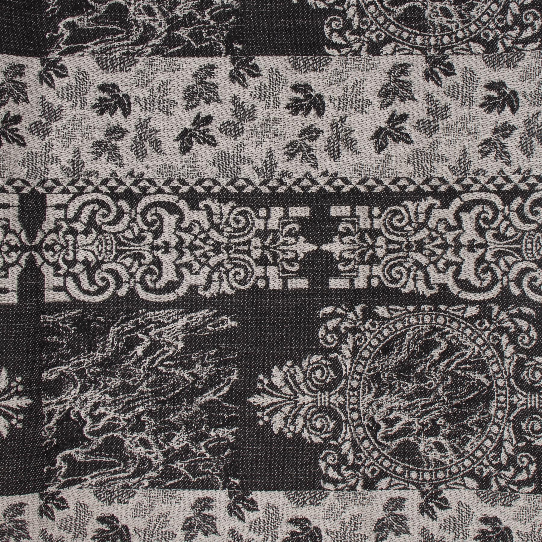 koop veilig online Kenzo Printed Wool Mix Scarf