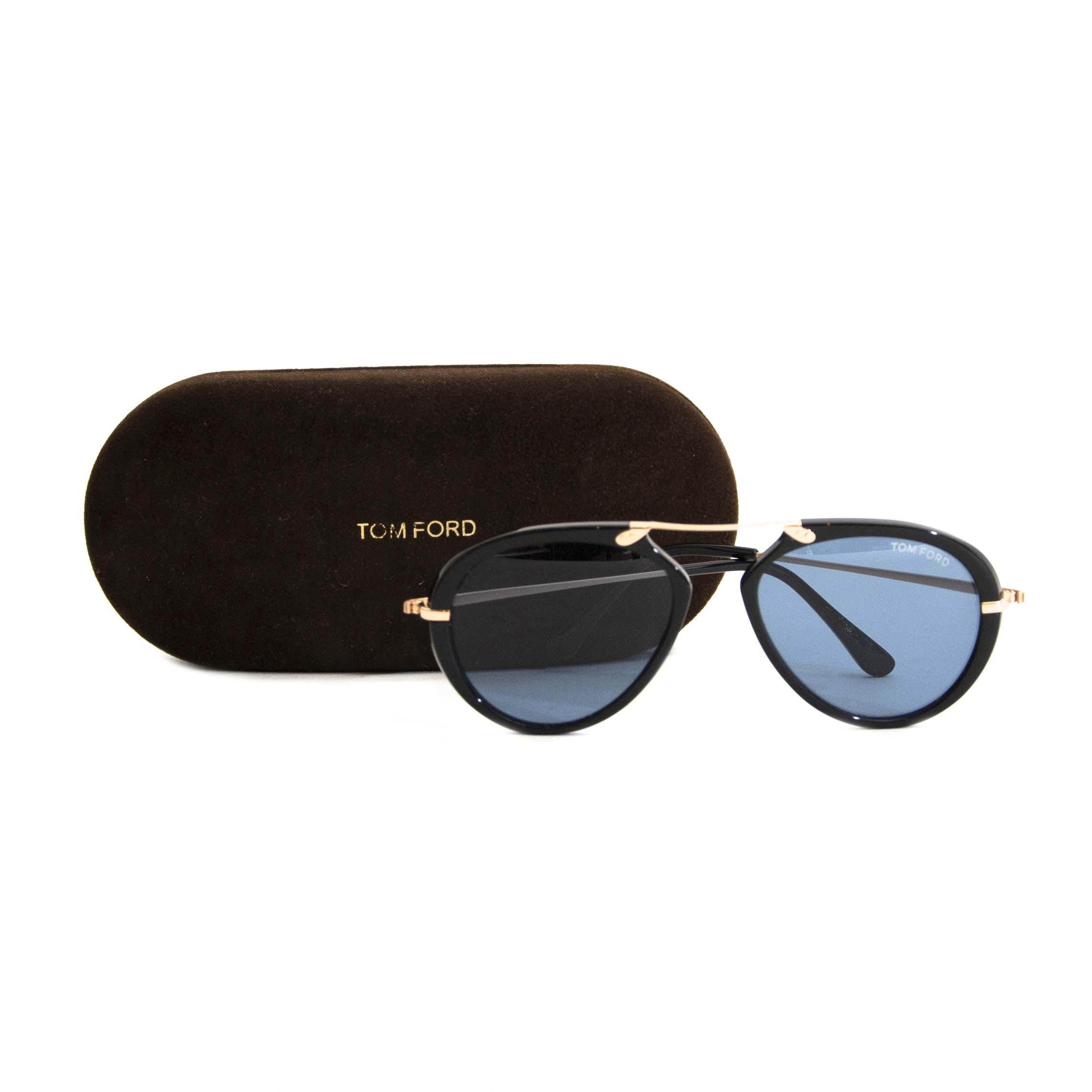 Tom Ford Black Tom N.11 Sunglasses