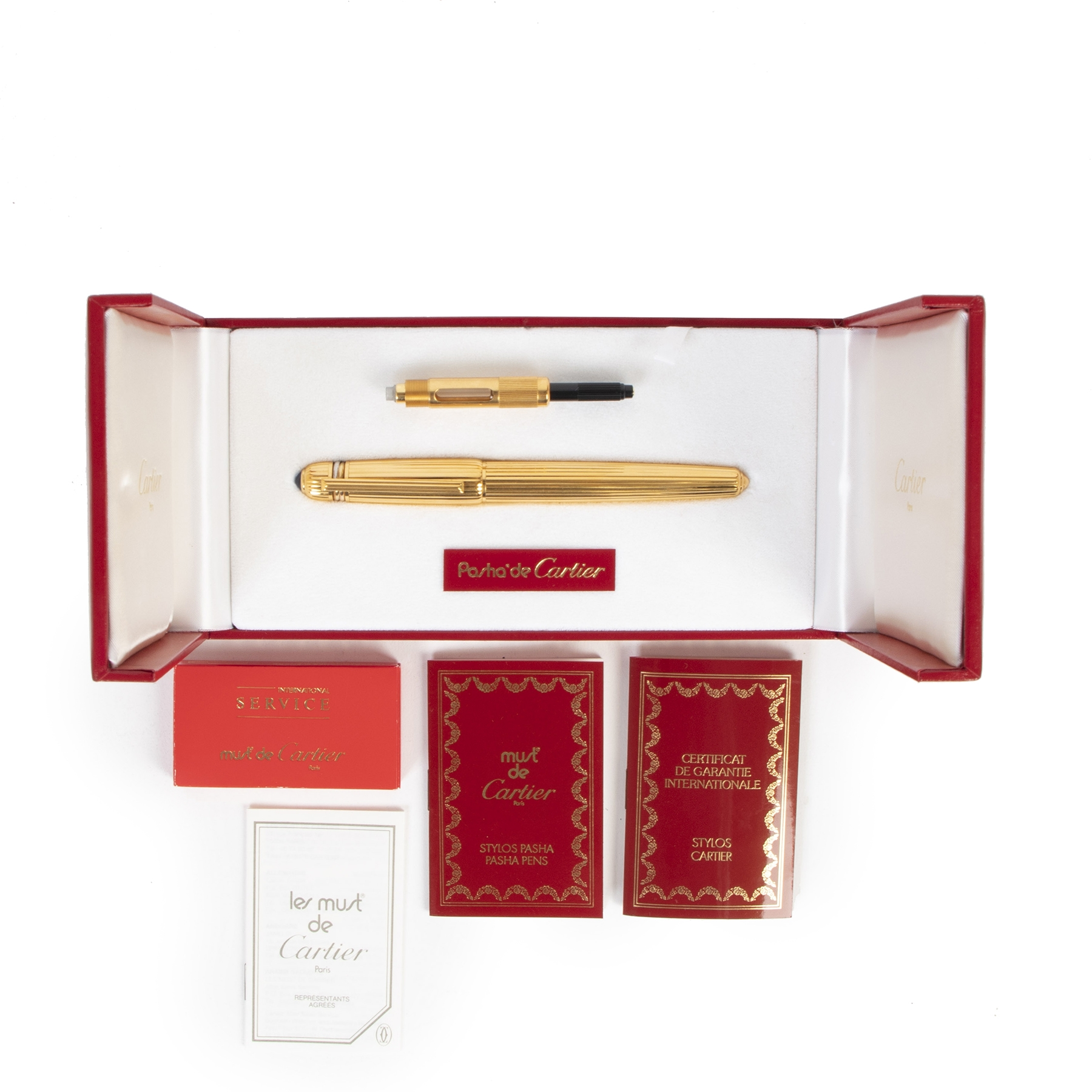 Cartier Pasha Plume point Pen
