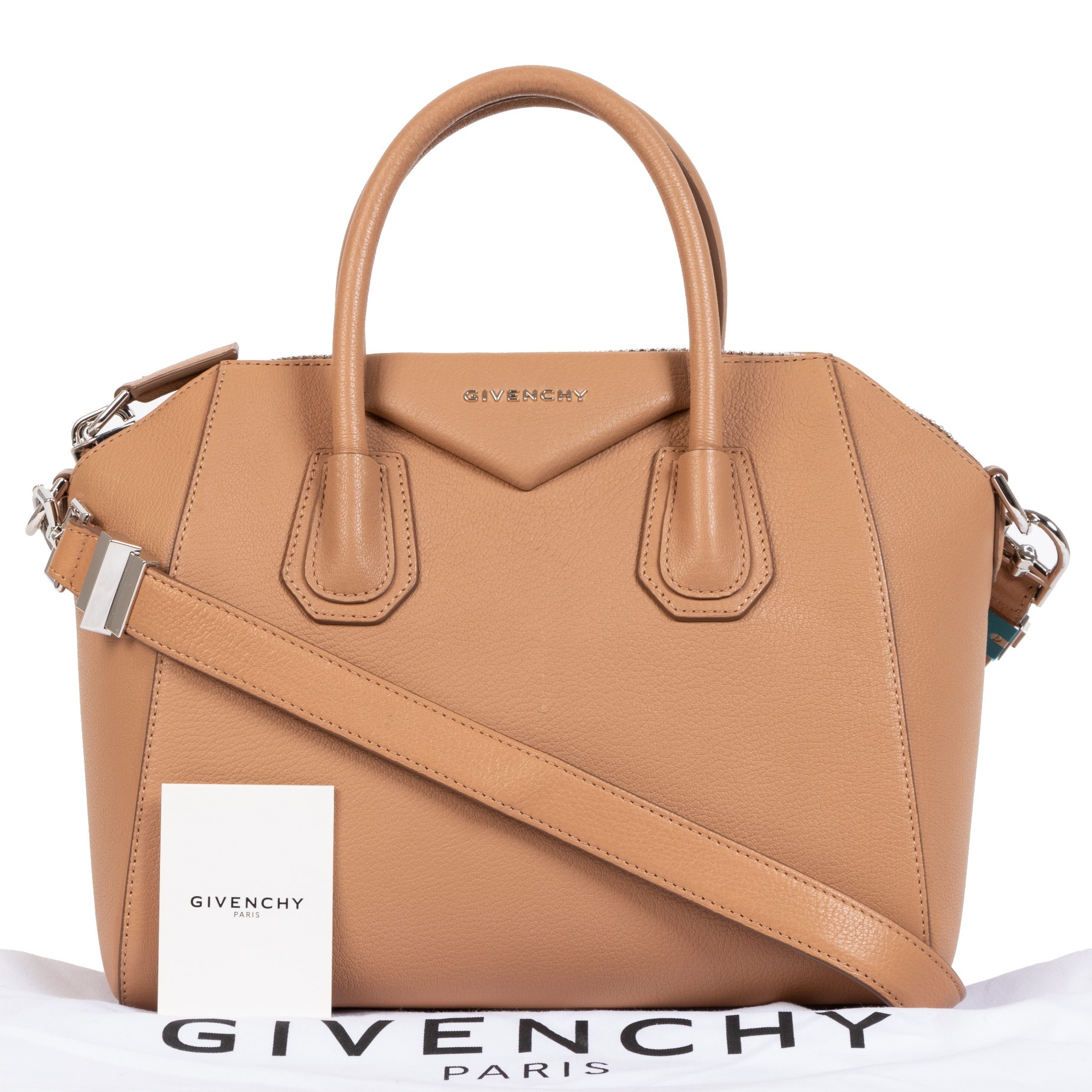Are you looking for an authentic Givenchy Antigona Beige Small Leather Bag