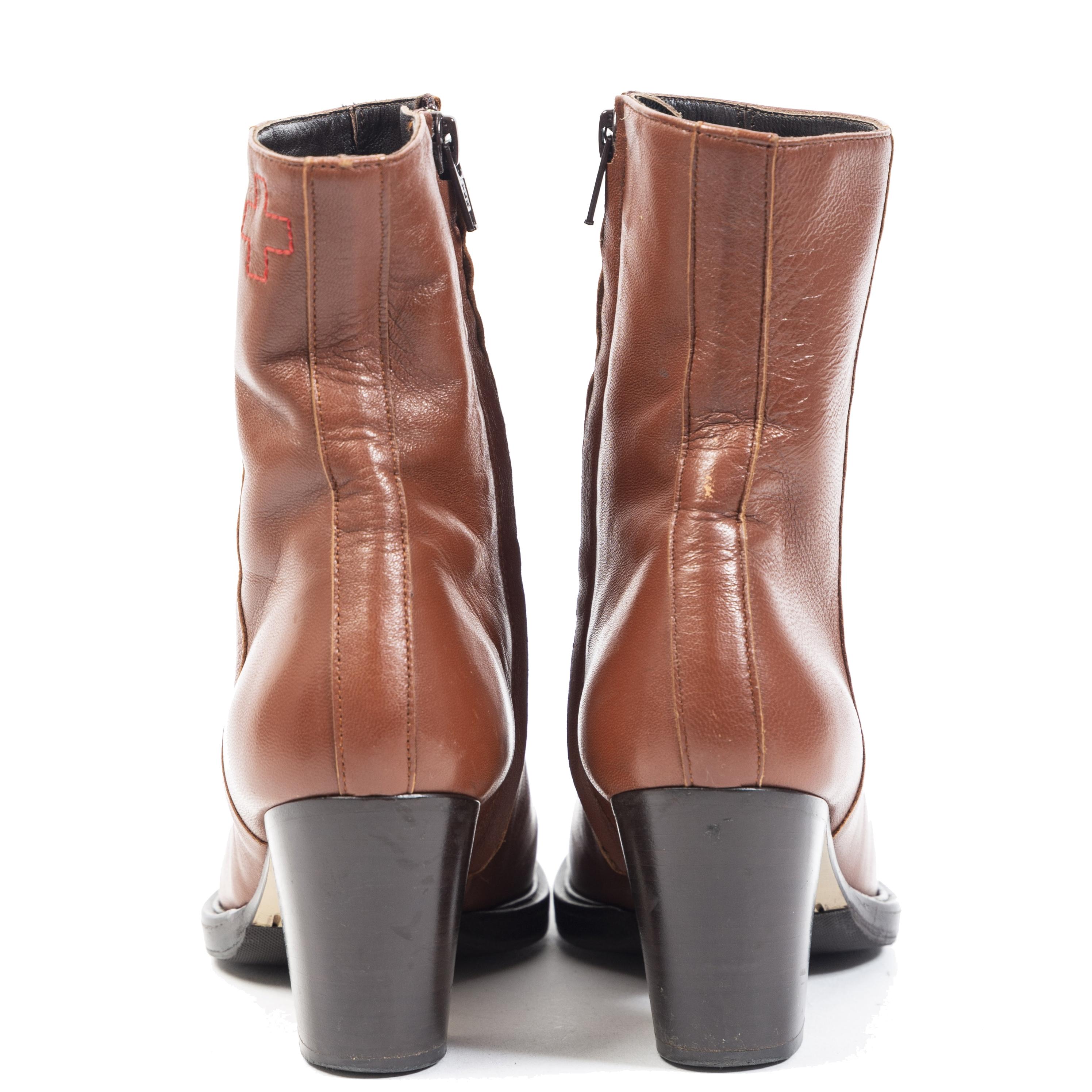 AF Vandevorst Copper Boots - Size 36