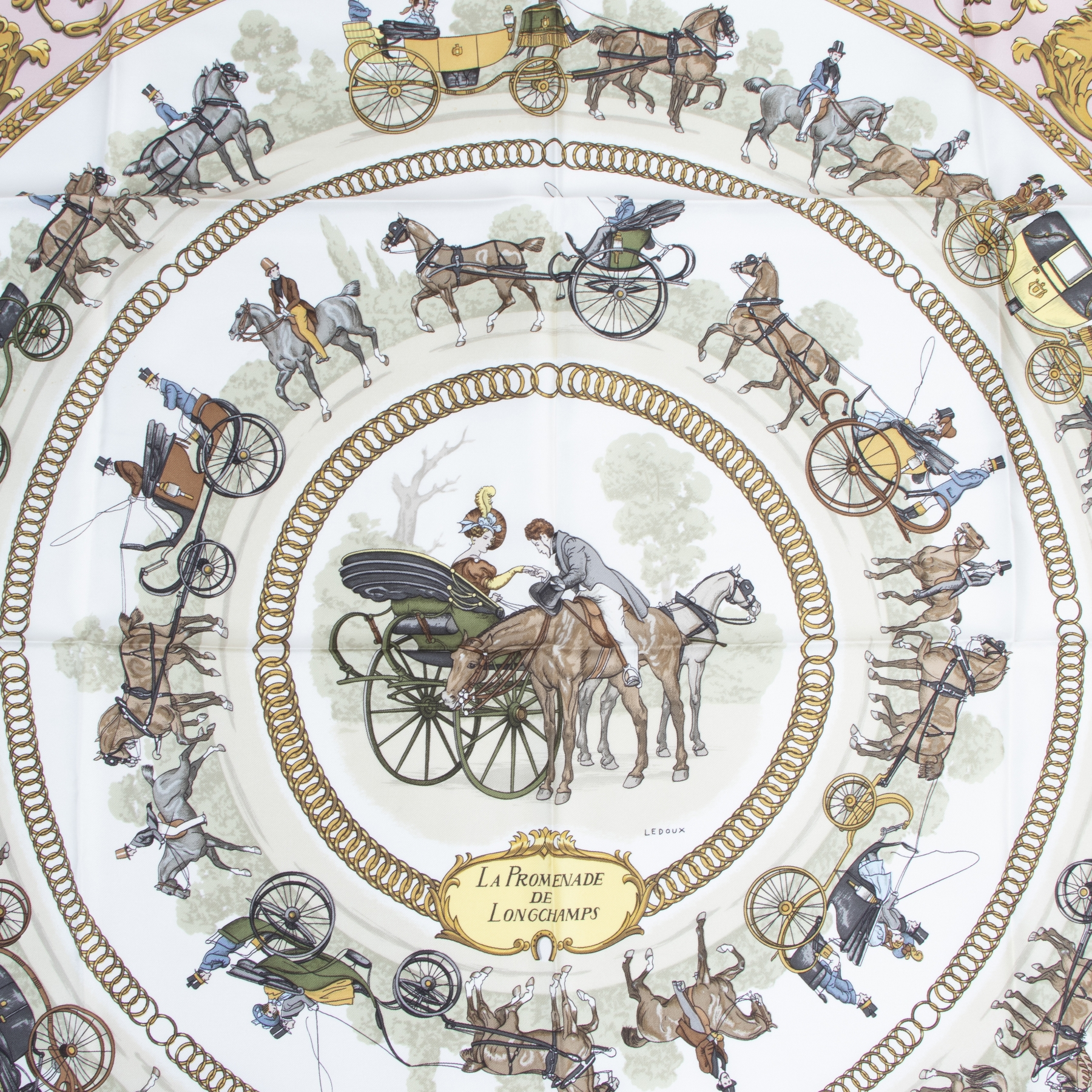 Hermès Carré La Promenade De Longchamps buy and sell your authentic handbags