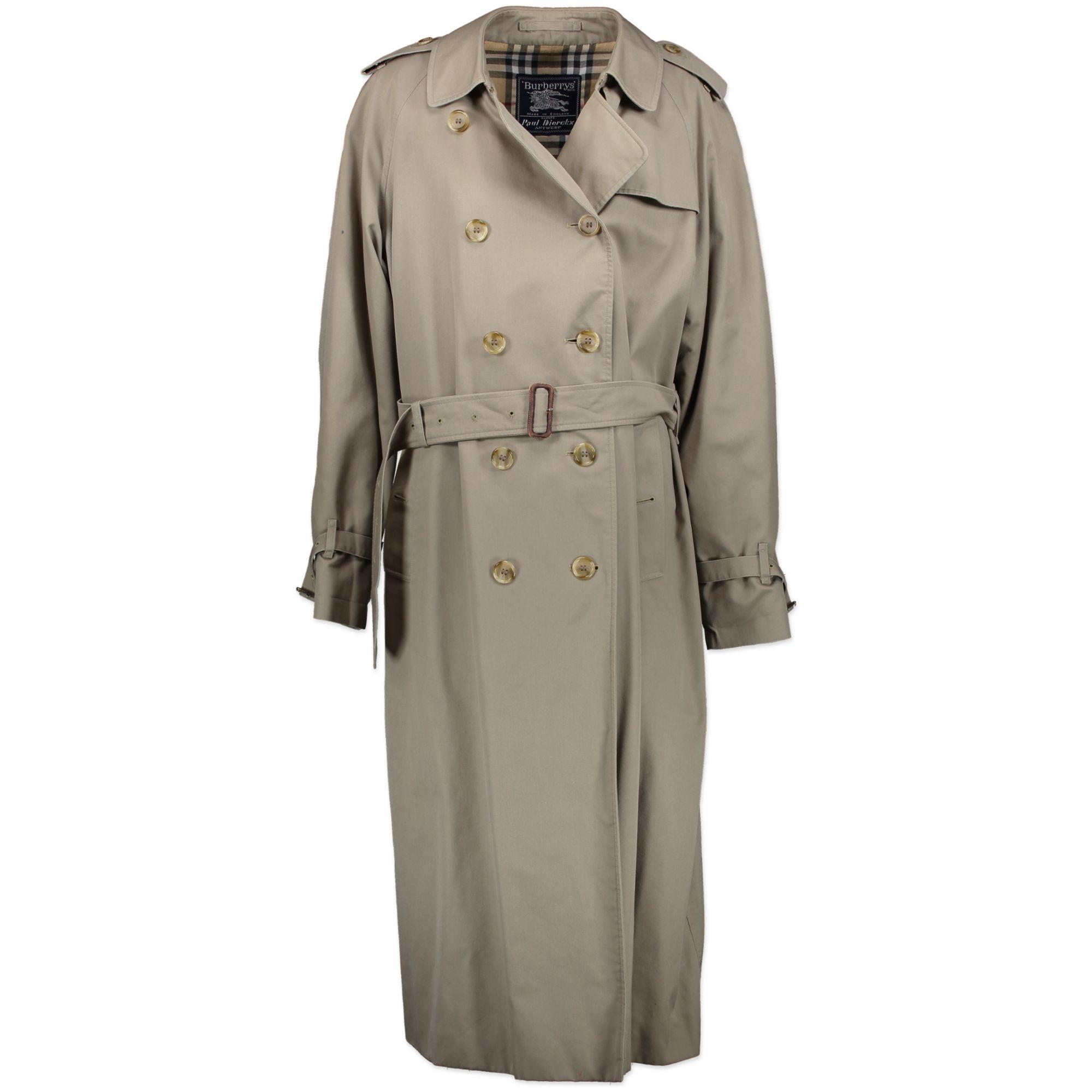 Burberry Classic Trenchcoat - SIZE L. Koop online beige klassieke Burberry coat man bij LabelLOV in Antwerpen. Veilige betaling.
