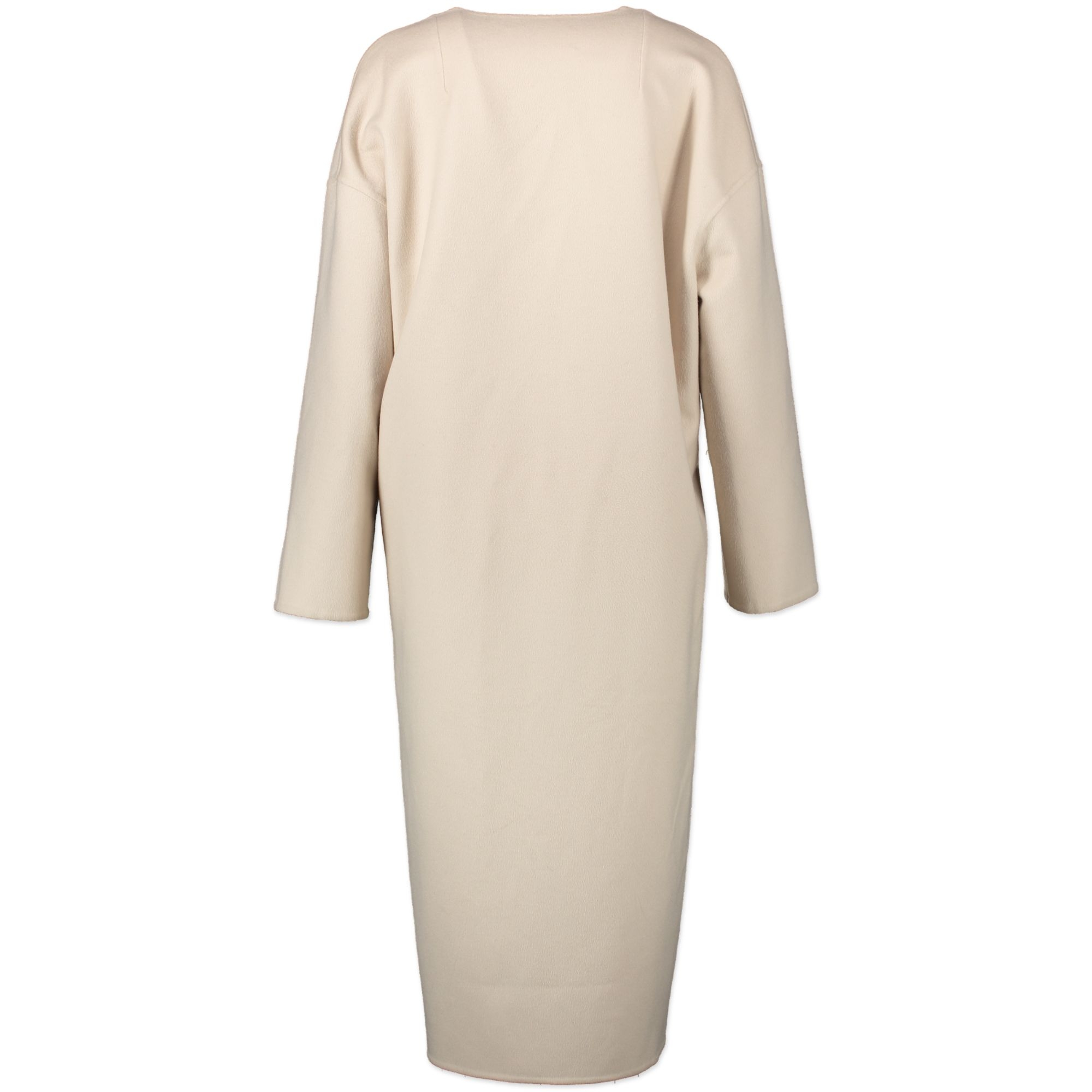 Loewe Light Beige Wool and Cashmere Coat