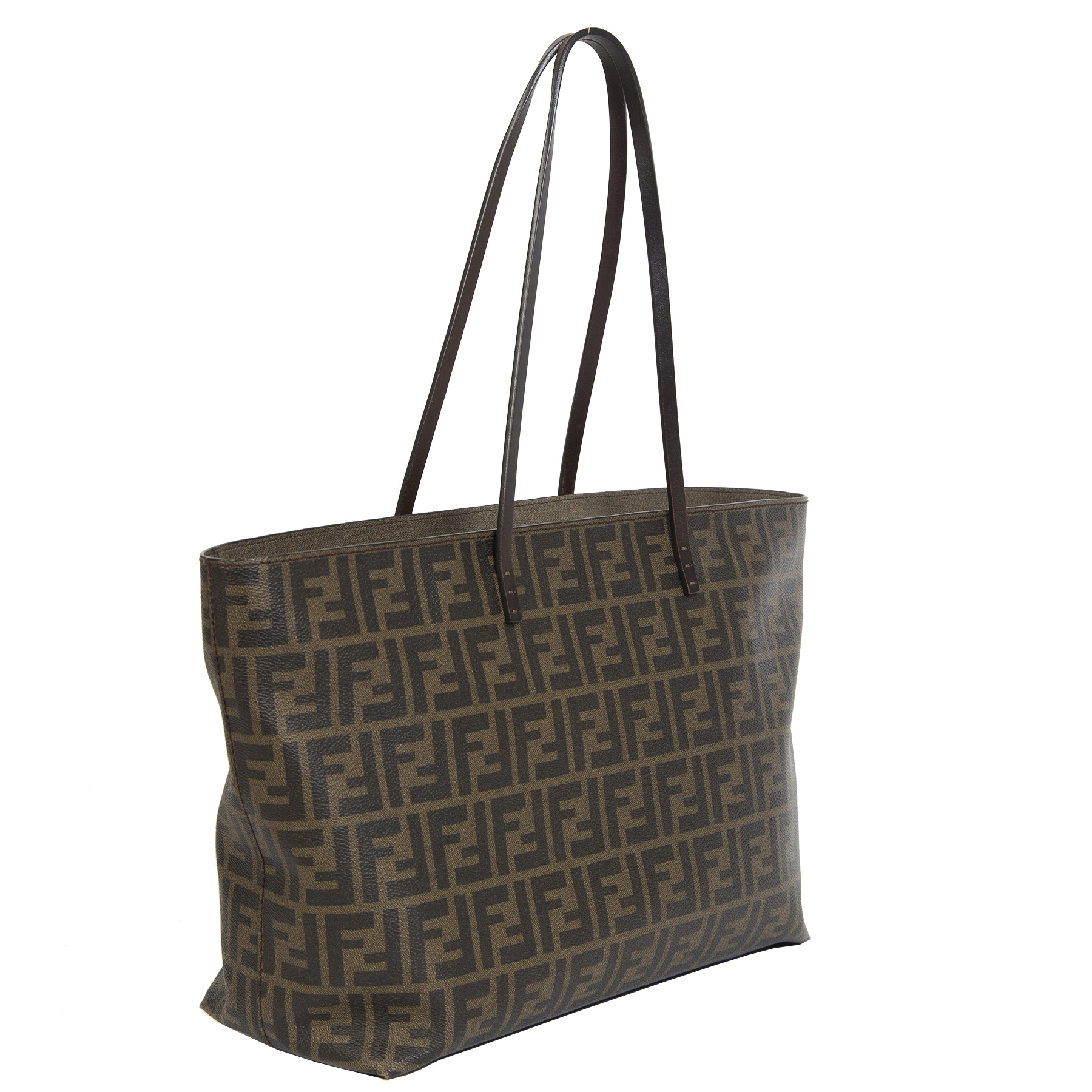 Fendi Monogram Shopper Tote Bag