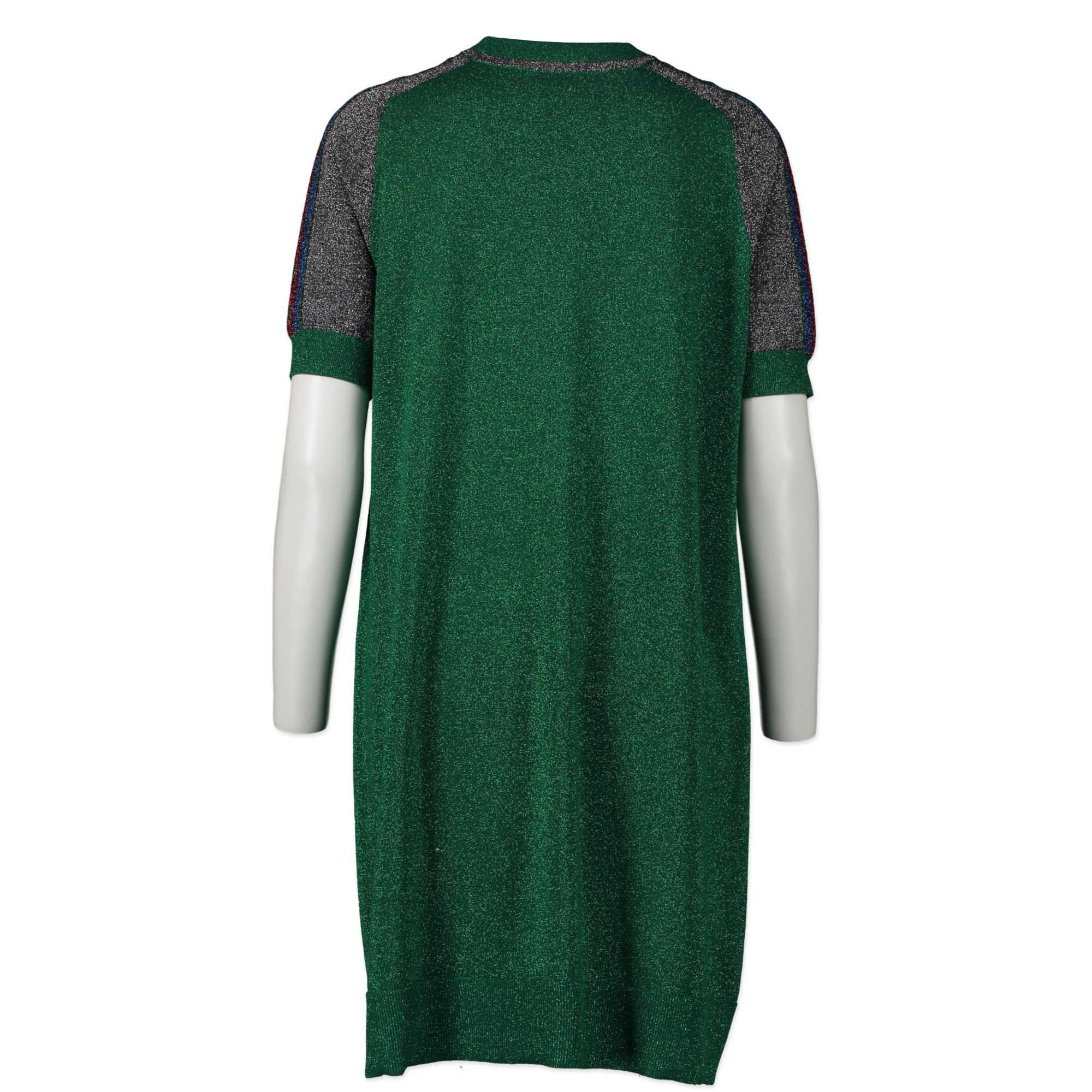 Gucci Green Glitter Sweater Dress - size S - kopen en verkopen