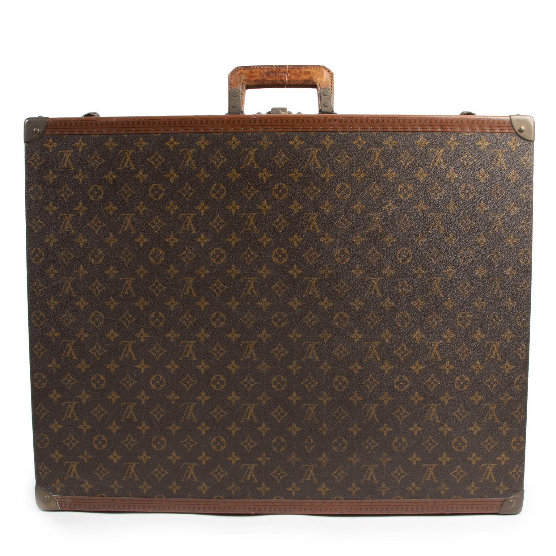 Authentieke tweedehands vintage Louis Vuitton Bisten 65 Suitcase koop online webshop LabelLOV