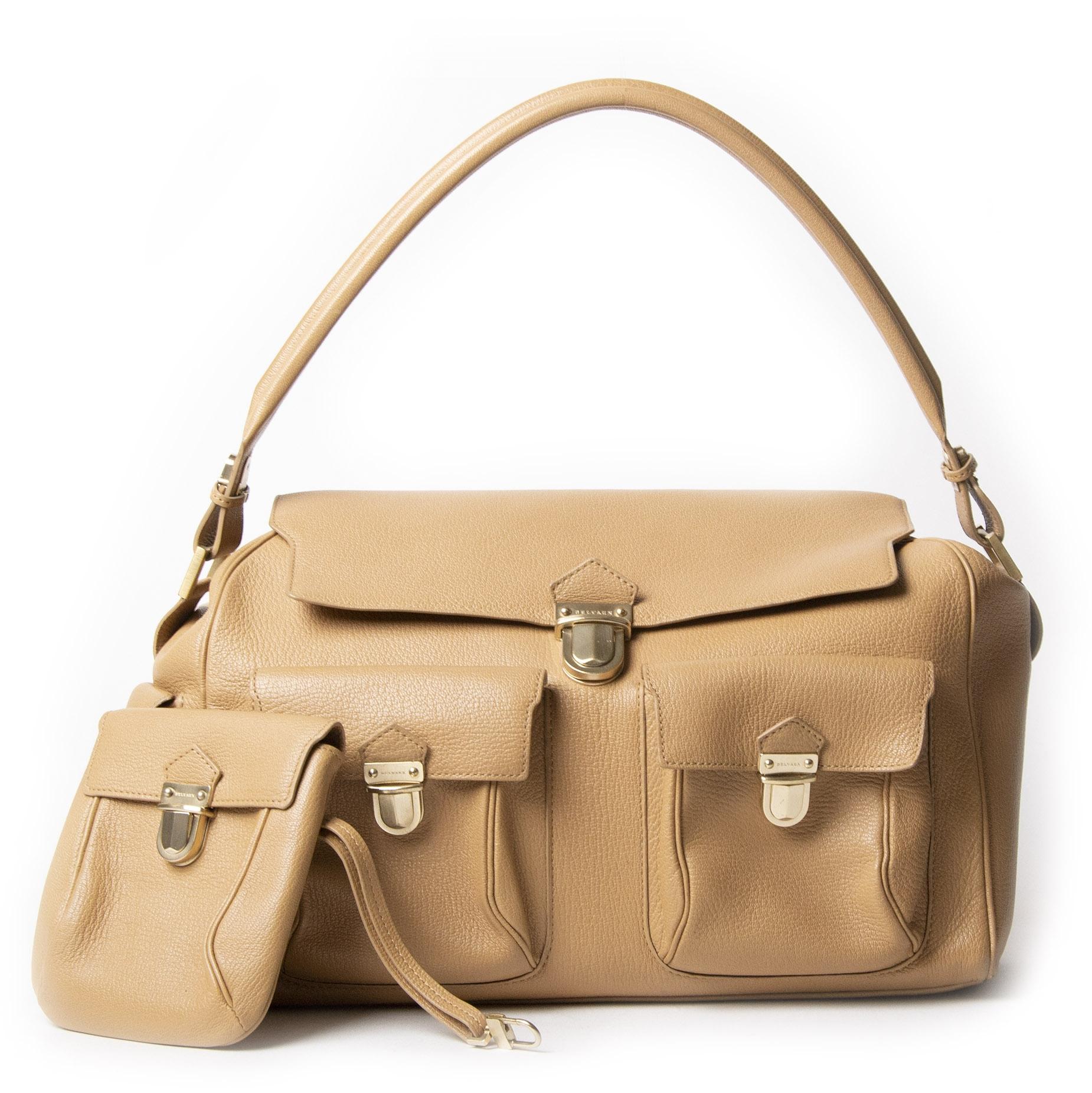 Delvaux Coquin Poches Blush Shoulder Bag