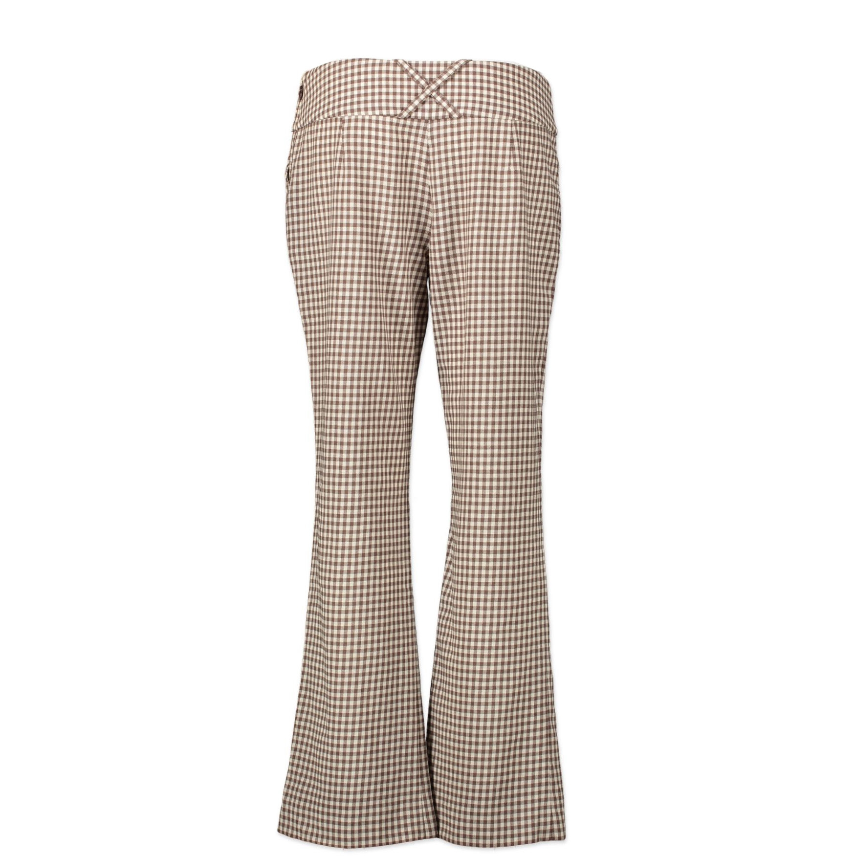 Valentino Gingham Pants - Size 42