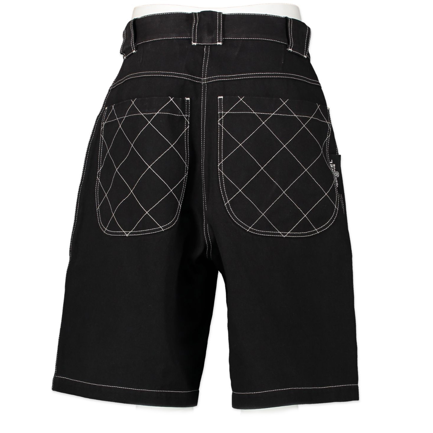 Chanel Denim Bermuda Pants