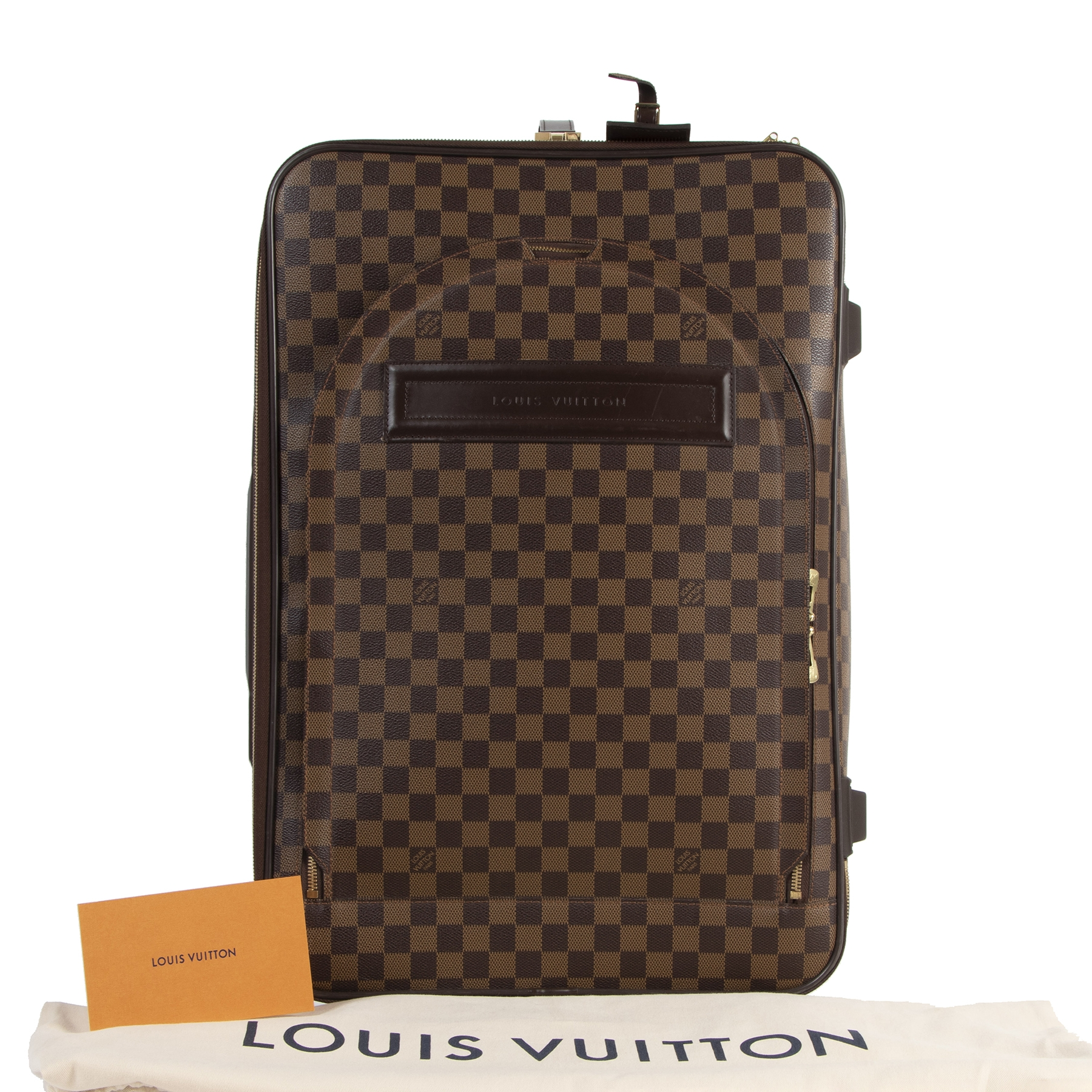 skip the waiting list shop safe online your secondhand Louis Vuitton Pégase 50 Travel Luggage