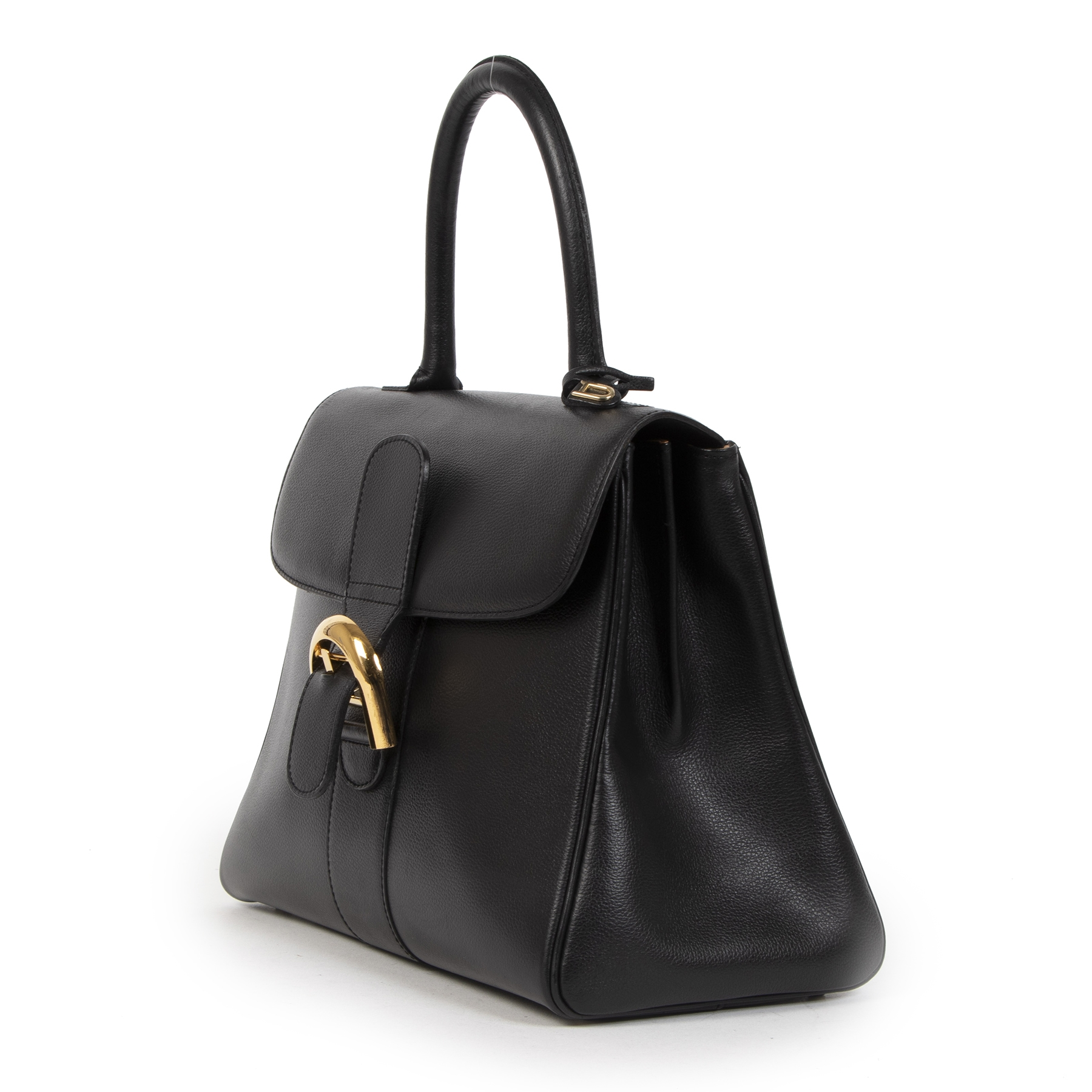shop safe online Delvaux Black Brillant MM