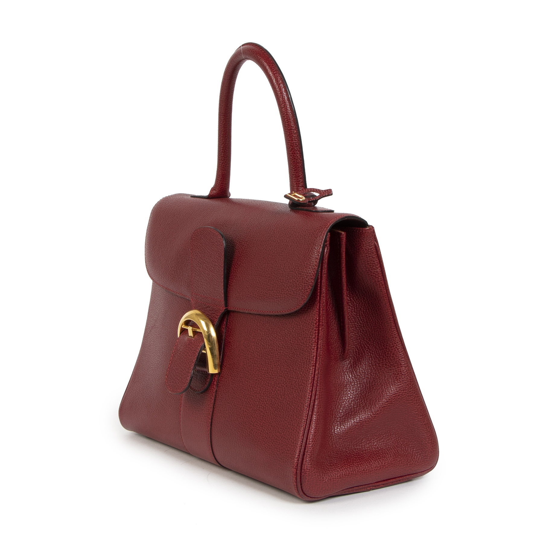 Buy authentic secondhand Delvaux Brillant Burgundy MM GHW at the right price at LabelLOV vintage webshop. Safe and secure online shopping. Koop authentieke tweedehands Delvaux Brillant Red MM GHW met de juiste prijs bij LabelLOV