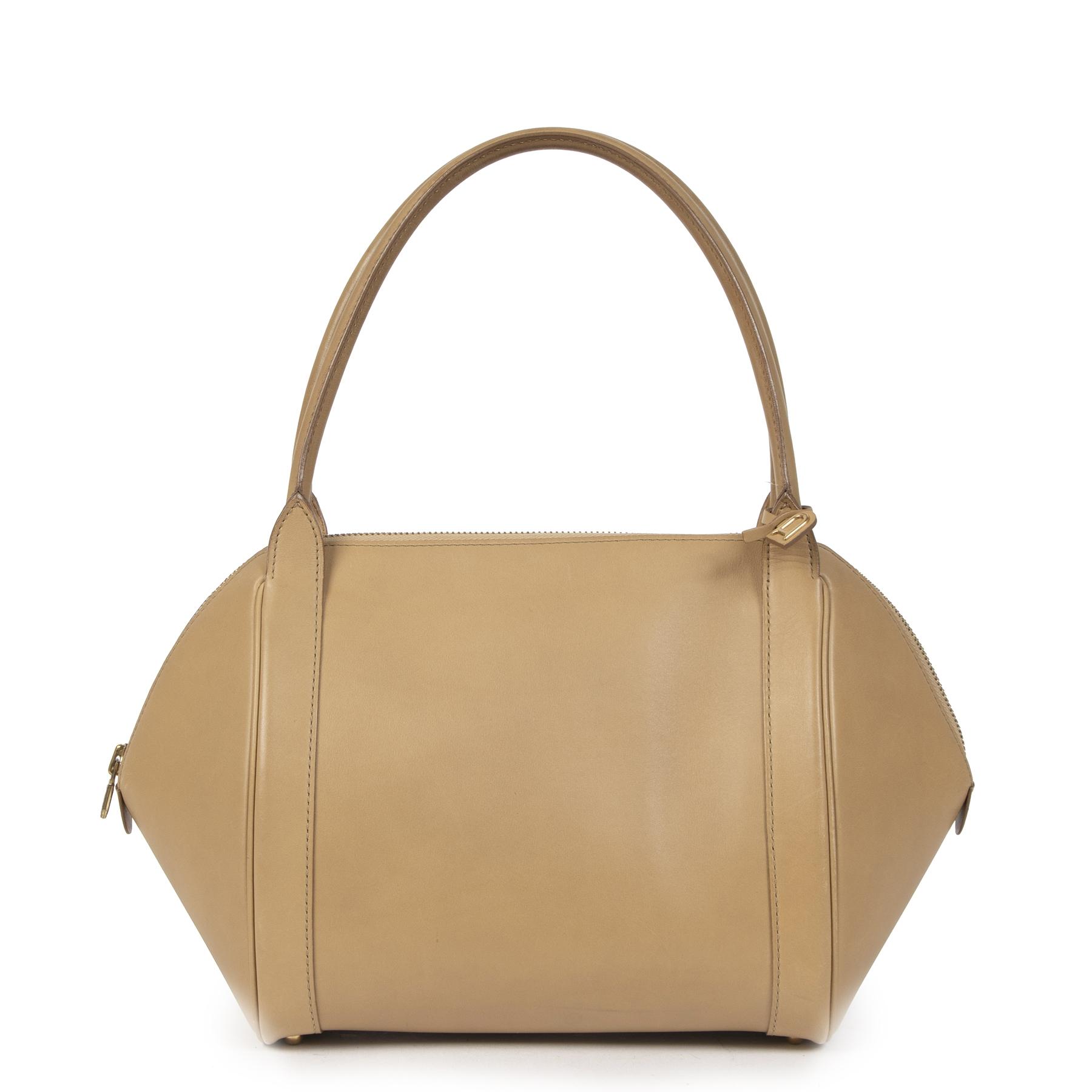 Delvaux Beige Perle Shoulder Bag