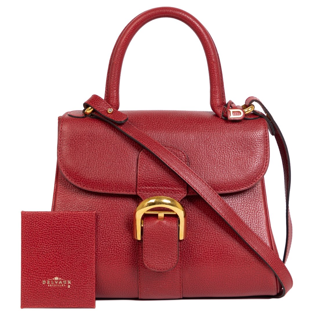 Delvaux Brillant PM Red + Strap