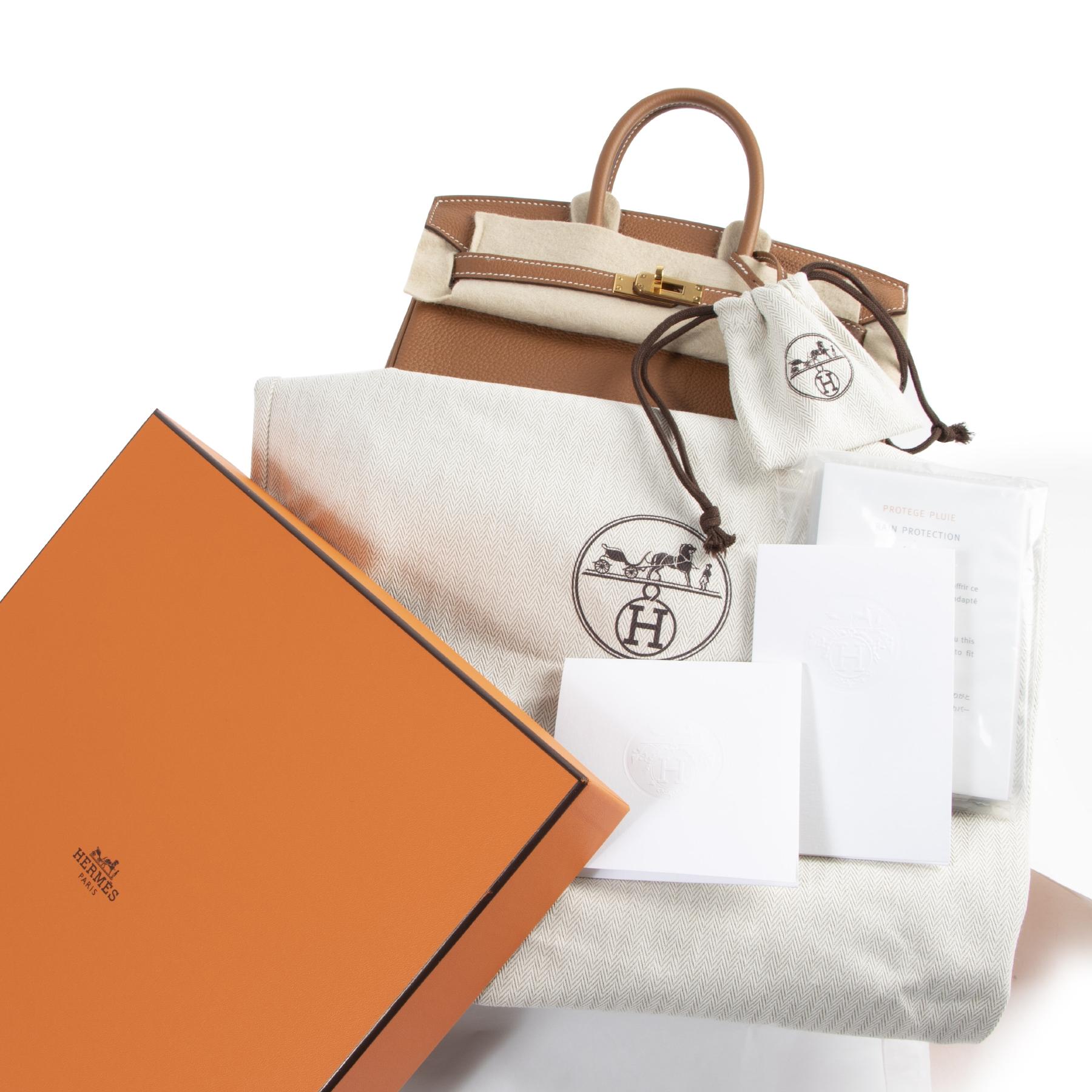 Hermès Birkin 25 Veau Togo Gold GHW