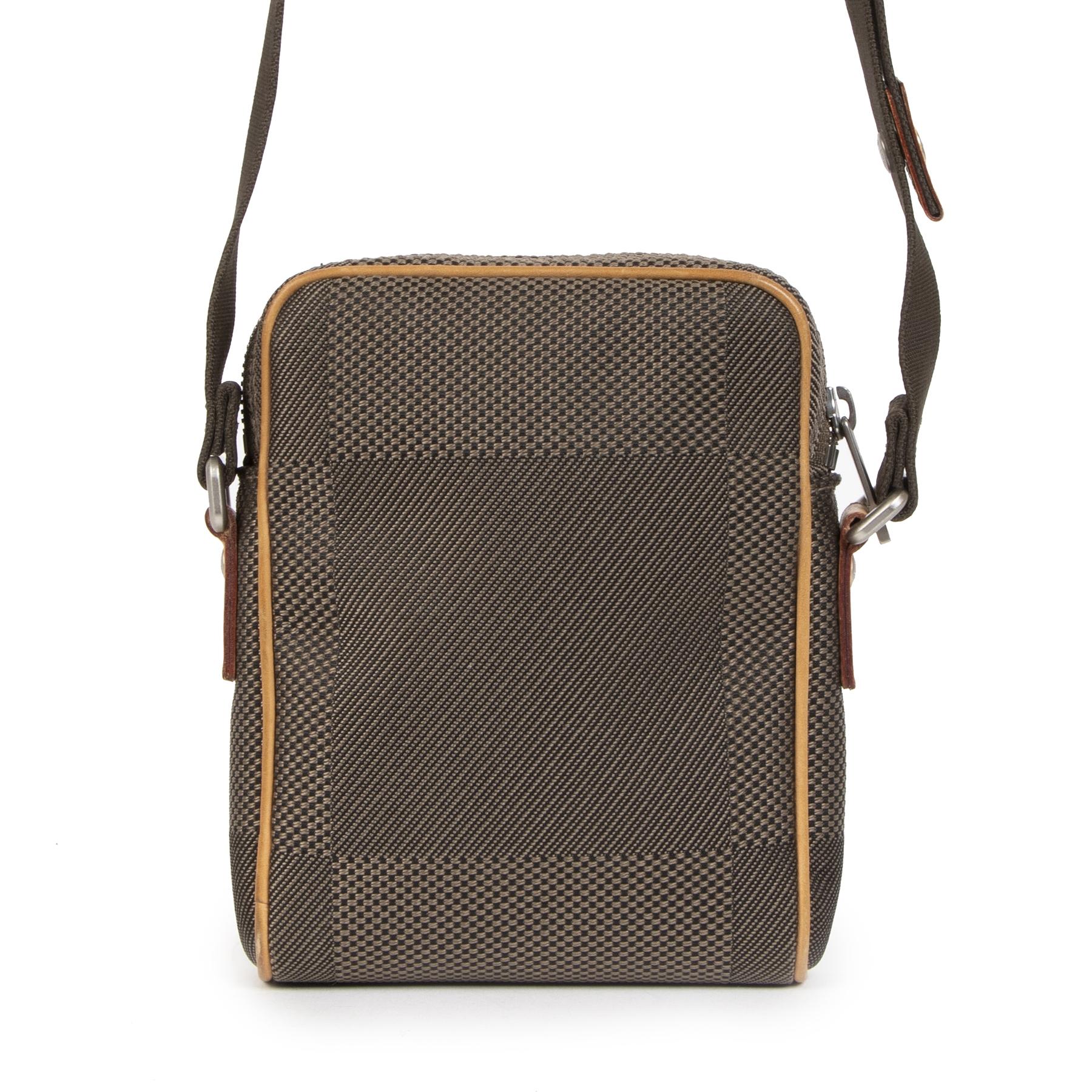 Authentic secondhand Louis Vuitton Compagnon Grey Damier Geant Canvas Bag designer bags designer brands fashion luxury vintage webshop safe secure online shopping worldwide shipping