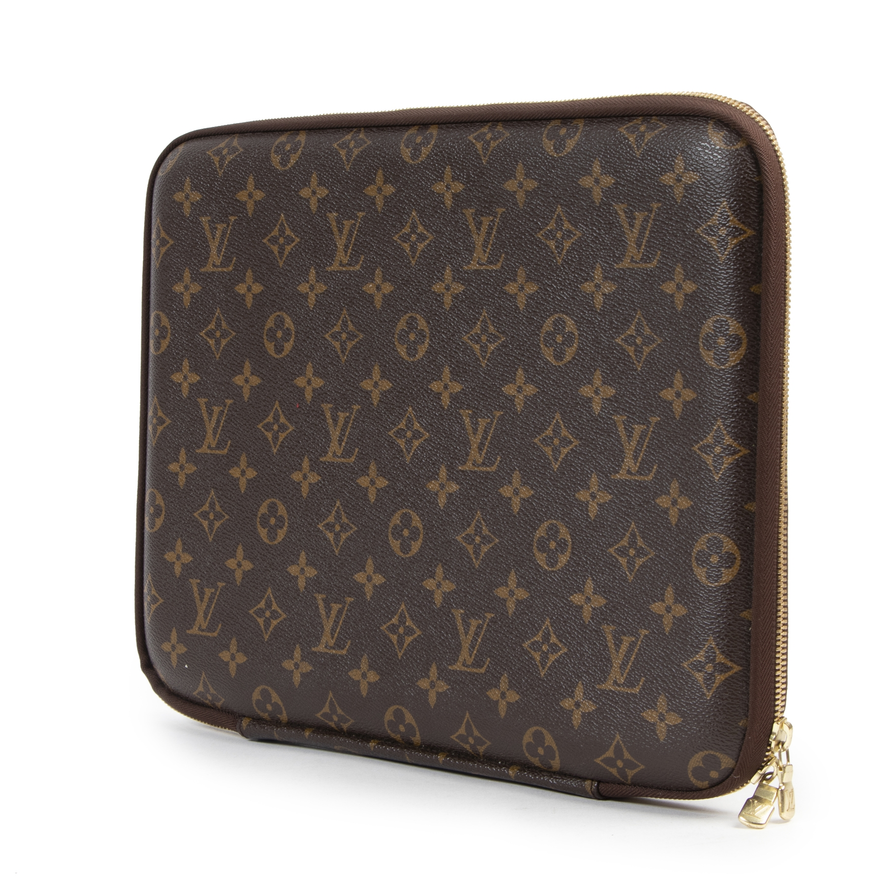 Louis Vuitton Brown Laptop Sleeve Monogram 13 inch