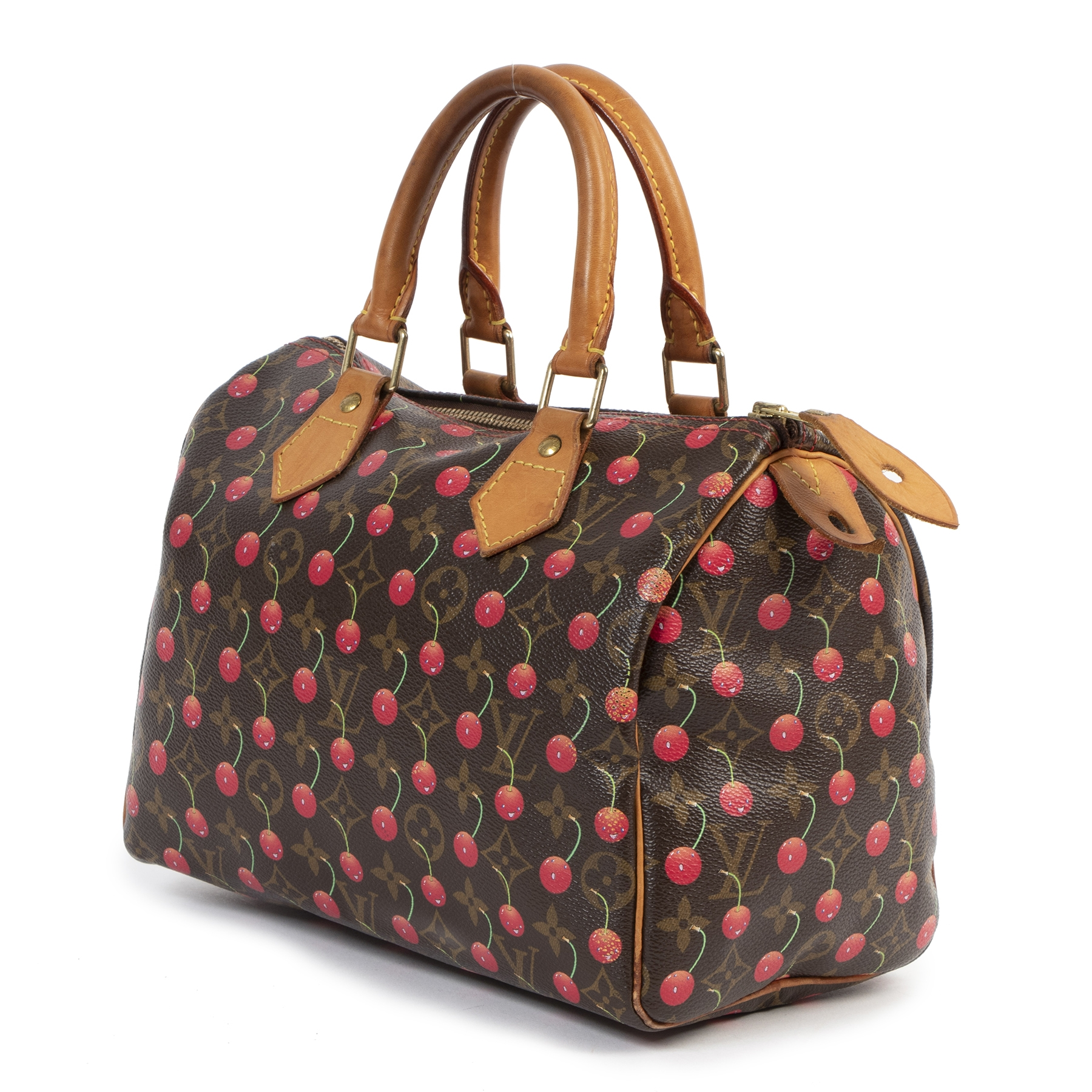 Louis Vuitton Takashi Murakami Cerises Cherry Speedy 25 Bag