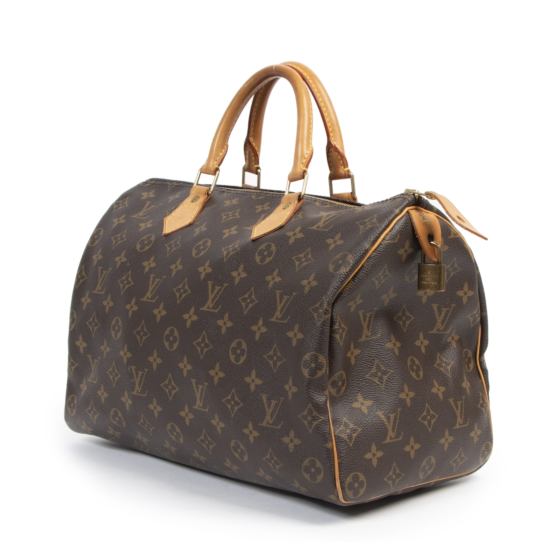 Louis Vuitton Speedy 35 Monogram Handbag