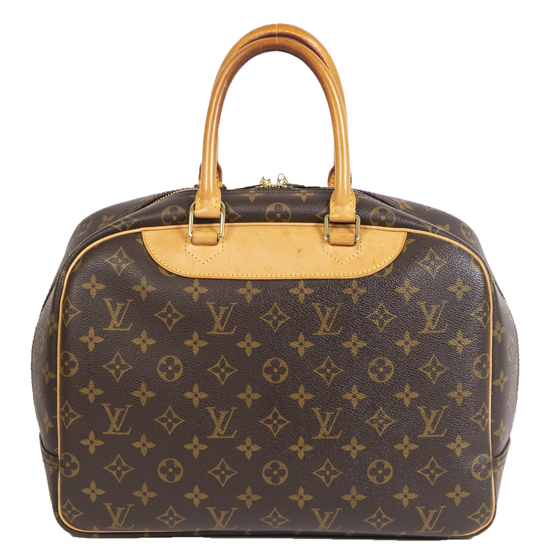 Louis Vuitton Monogram Canvas Deauville Bag kopen en verkopen aan de beste prijs