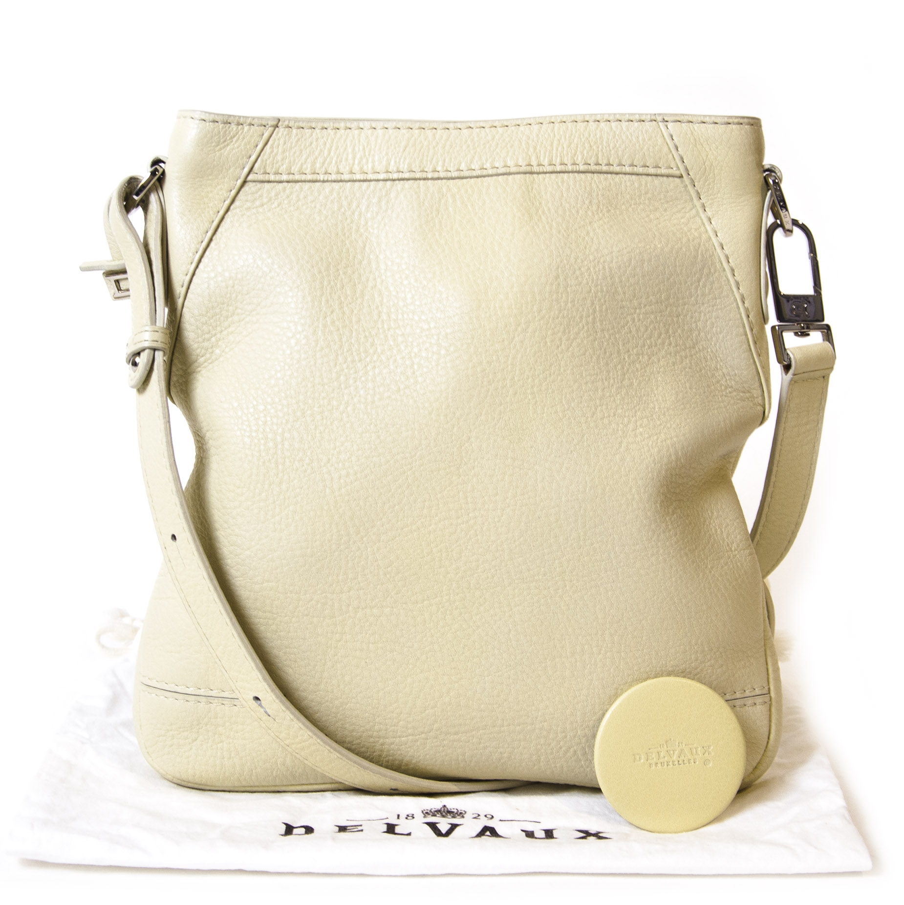 Delvaux Mint Green Crossbody Bag