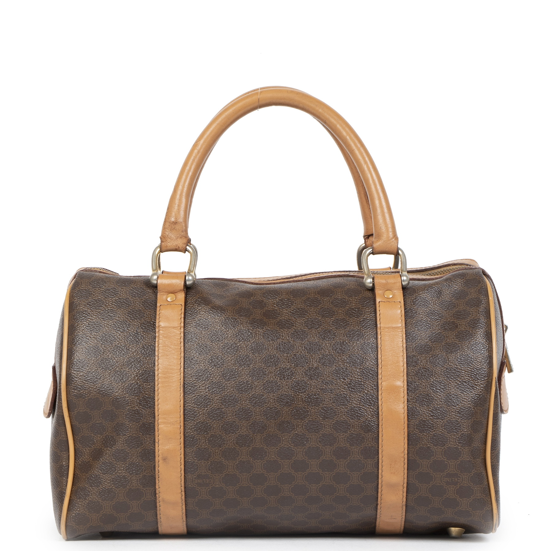 Authentic secondhand Celine Monogram Boston Bag at the right price safe and secure online webshop LabelLOV luxury brand Antwerp