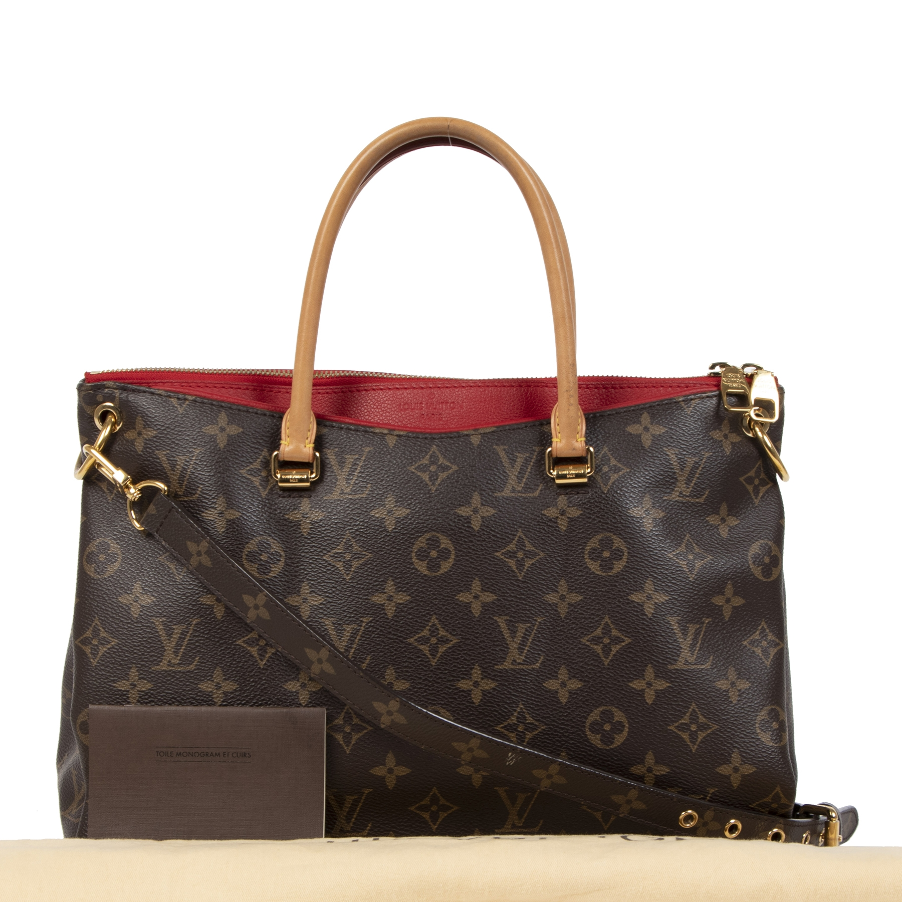 Buy safe and secure Louis Vuitton Pallas bags at LabelLOV