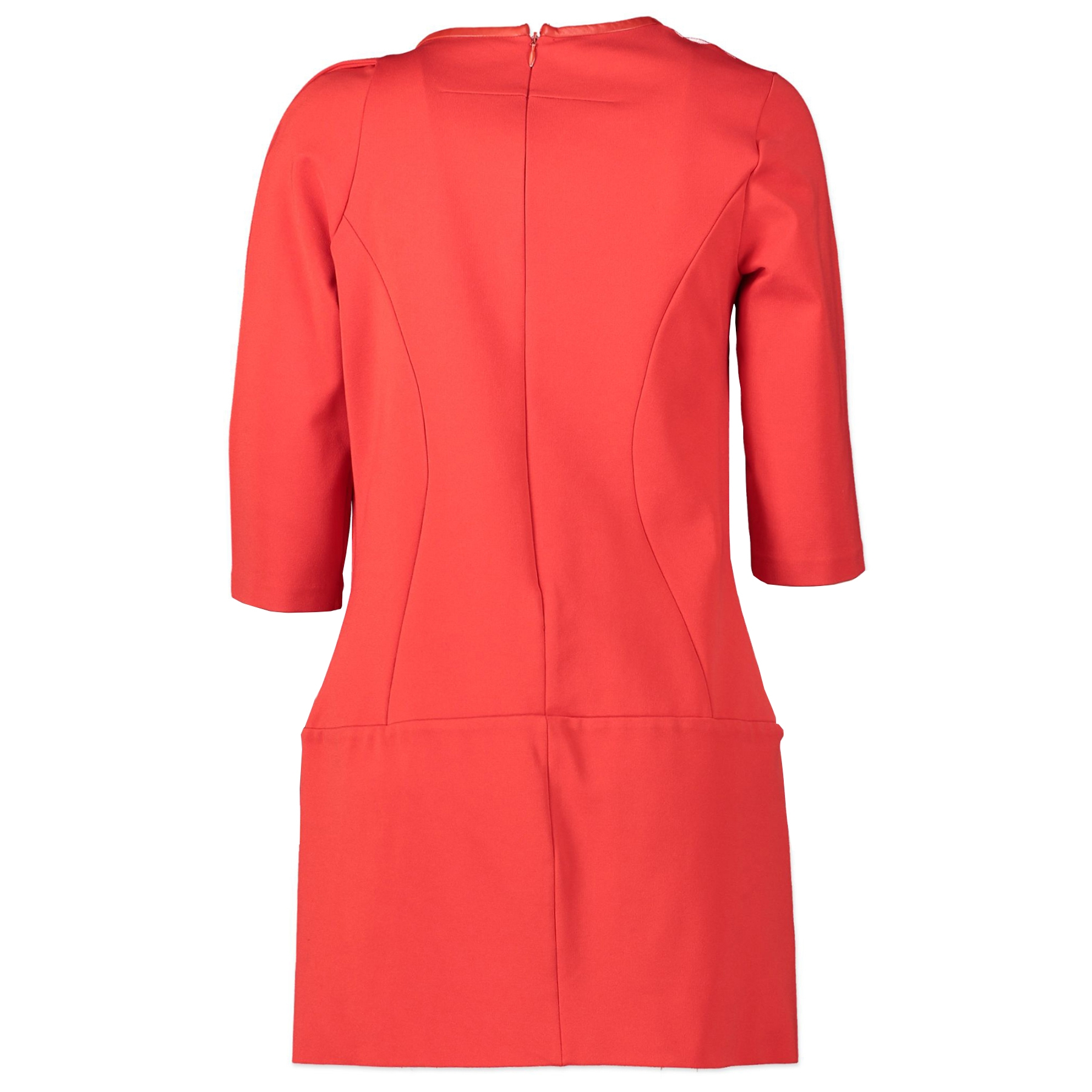 Authentieke tweedehands vintage Givenchy Red Bodycon Dress - Size L koop online webshop LabelLOV