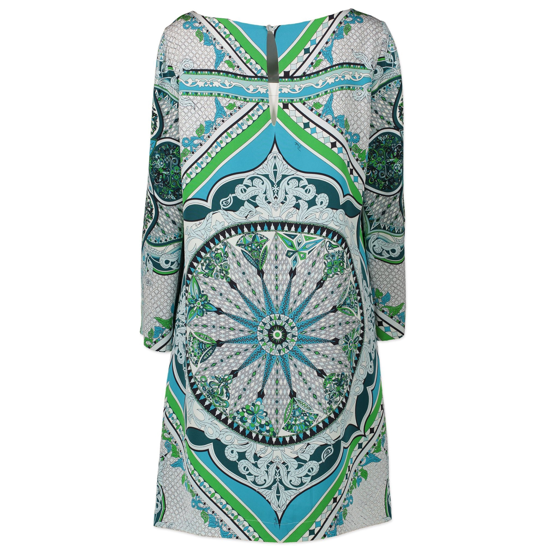 Authentic second-hand vintage Pucci Printed Shift Dress - Size 44 buy online webshop LabelLOV