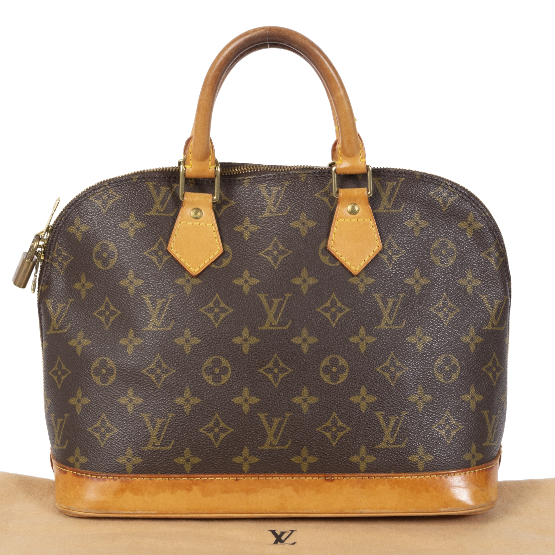 acheter en linge seconde main Louis Vuitton Alma Monogram