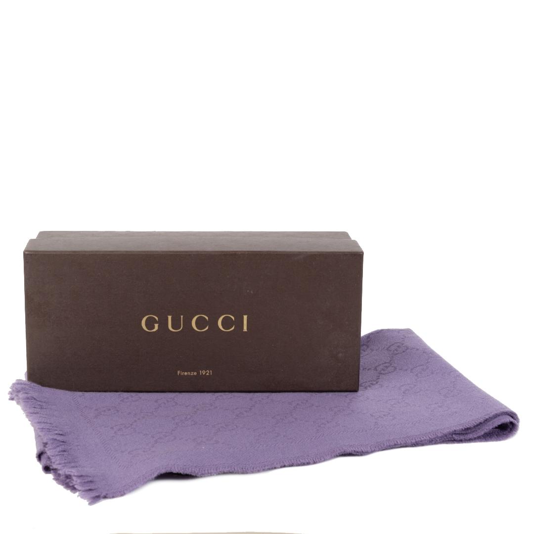 shop safe online Gucci Purple Wool Scarf