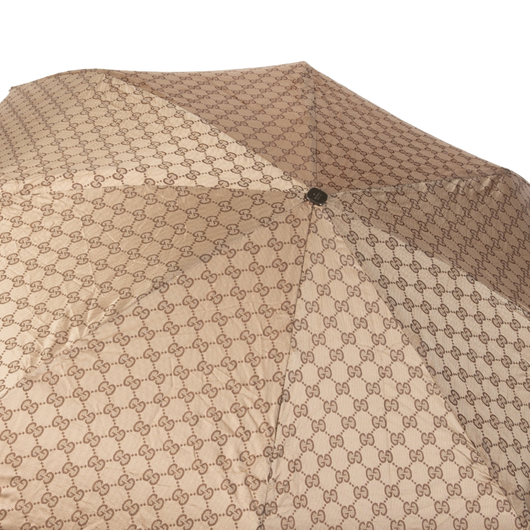 shop safe online Gucci Brown Monogram Umbrella
