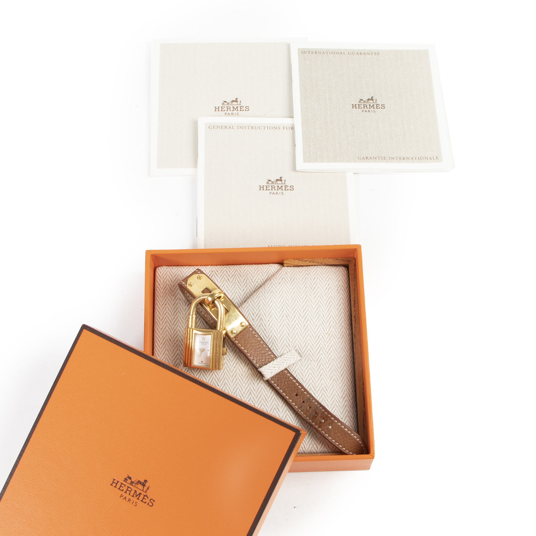 Hermès Kelly Gold Watch aan de beste prijs bij Labellov tweedehands luxe in Antwerpen