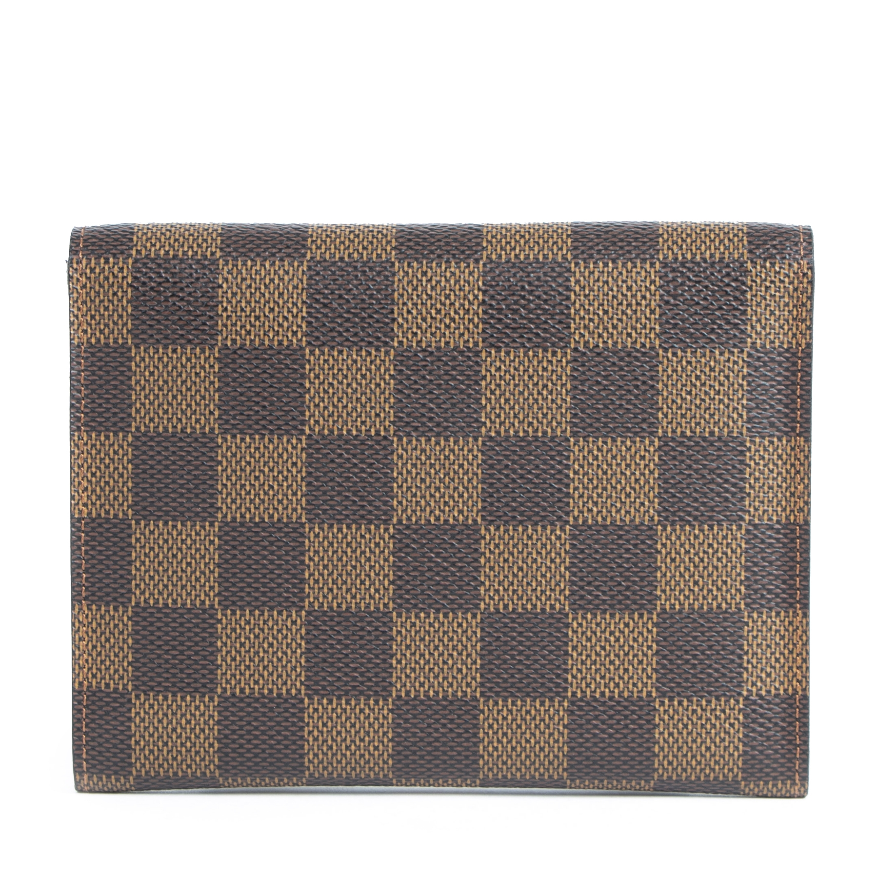 Authentic secondhand Louis Vuitton Damier Ebene Wallet designer accessories fashion luxury vintage webshop safe secure online shopping