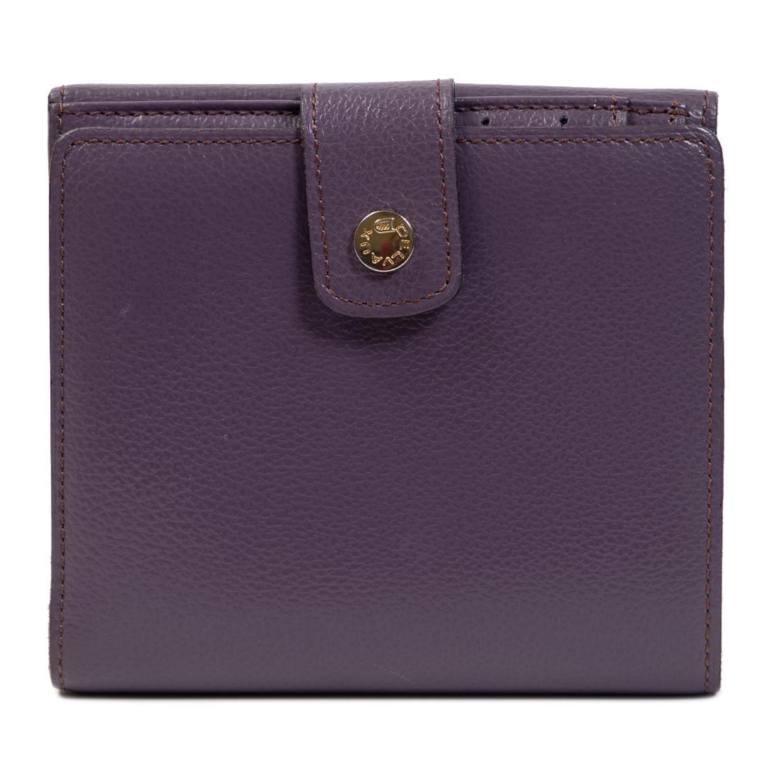 Authentieke Tweedehands Delvaux Purple Wallet juiste prijs veilig online shoppen luxe merken webshop winkelen Antwerpen België mode fashion