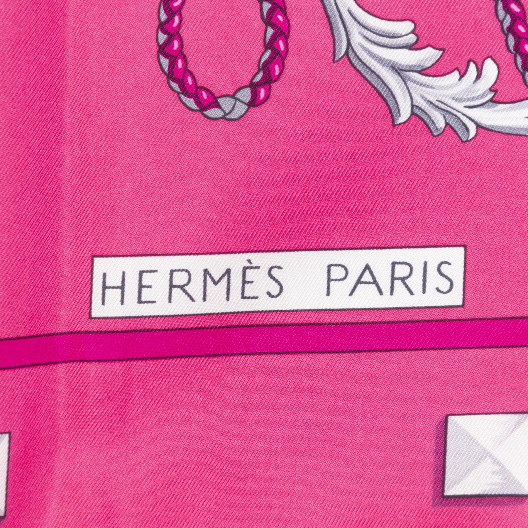 Authentieke Tweedehands Hermès Carré Les Clés Scarf juiste prijs veilig online shoppen luxe merken webshop winkelen Antwerpen België mode fashion