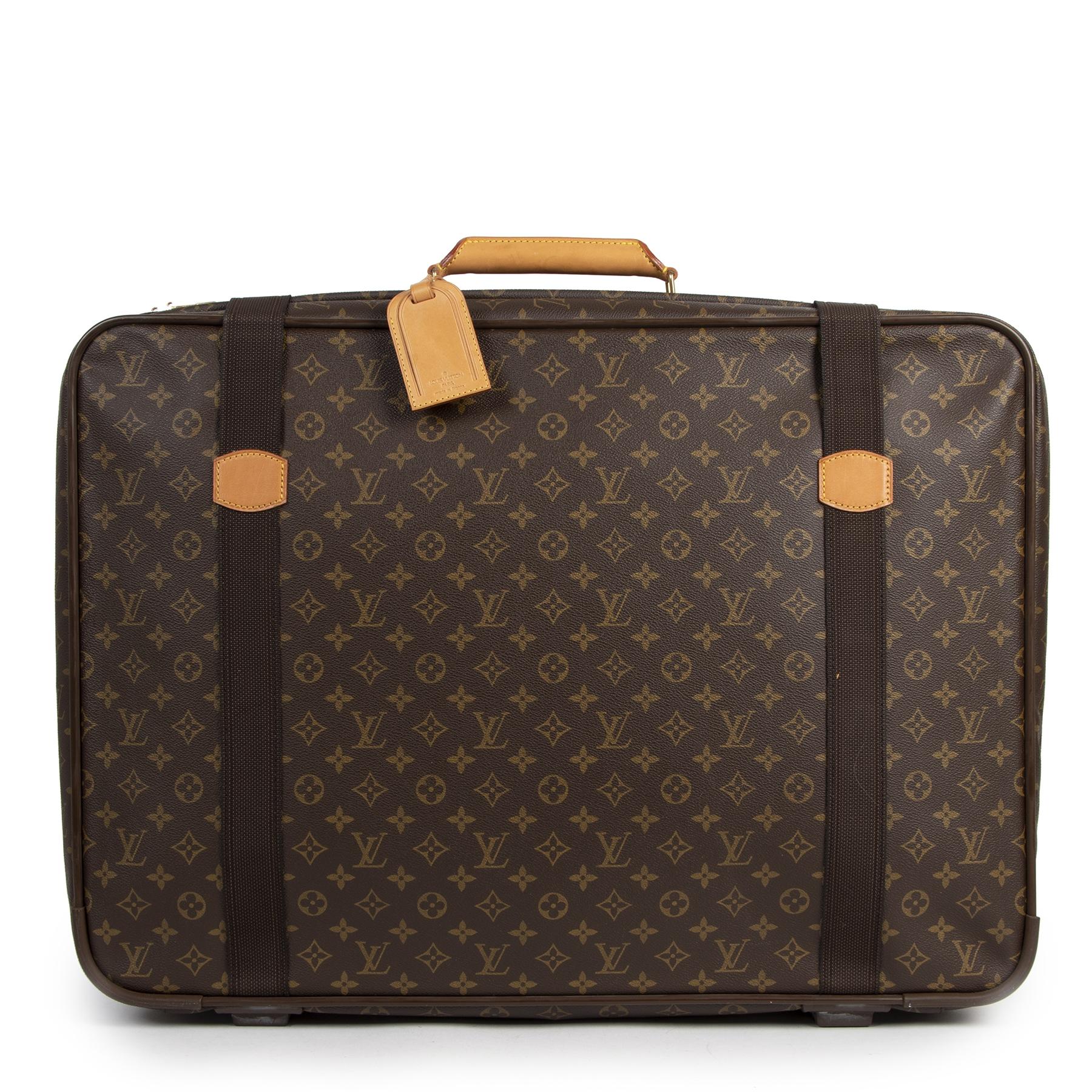shop safe online tegen de beste prijs Louis Vuitton Monogram Canvas Satellite 70 Luggage
