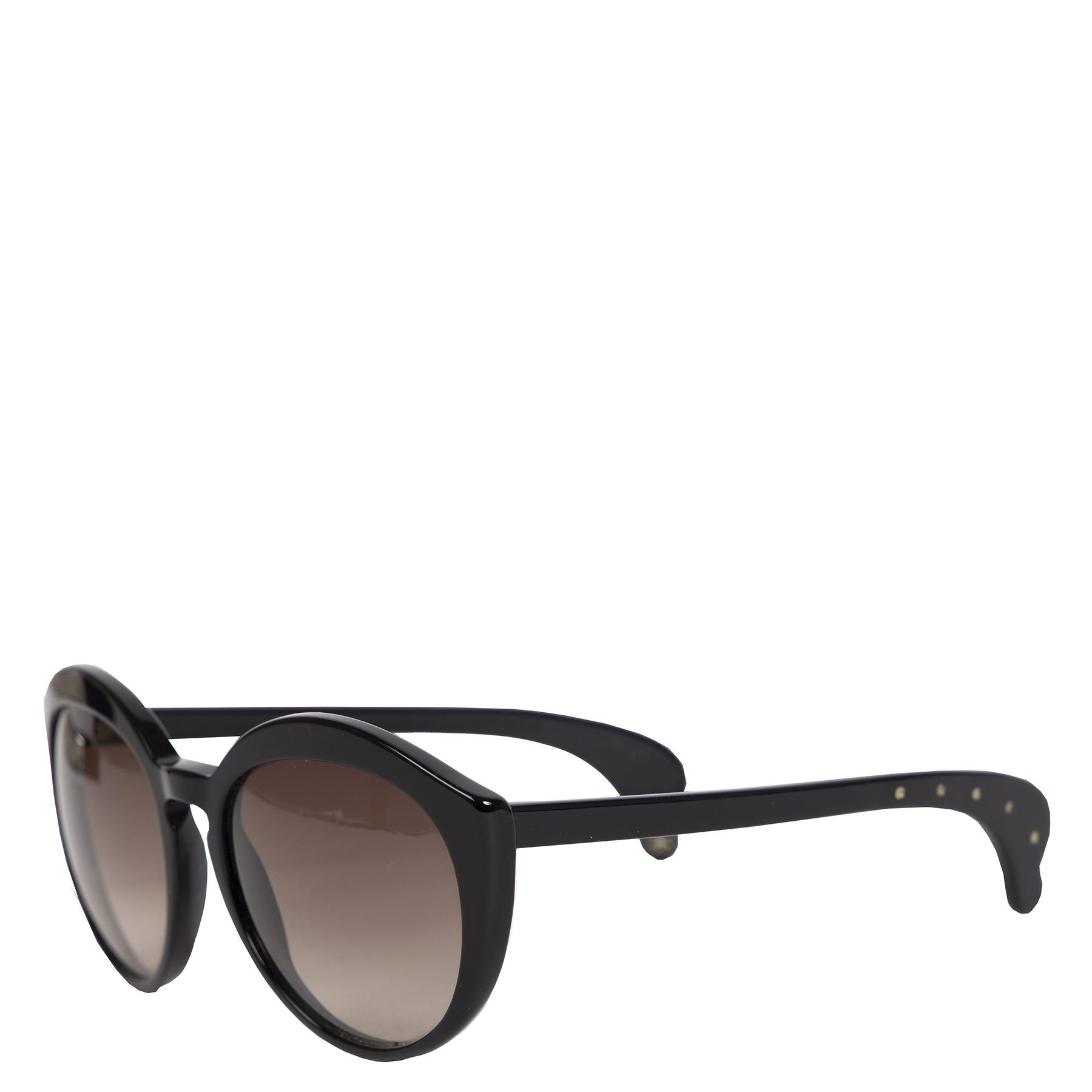 Authentieke Tweedehands Bottega Veneta Black Brown Shaded Acetate Sunglasses juiste prijs veilig online shoppen luxe merken webshop winkelen Antwerpen België mode fashion