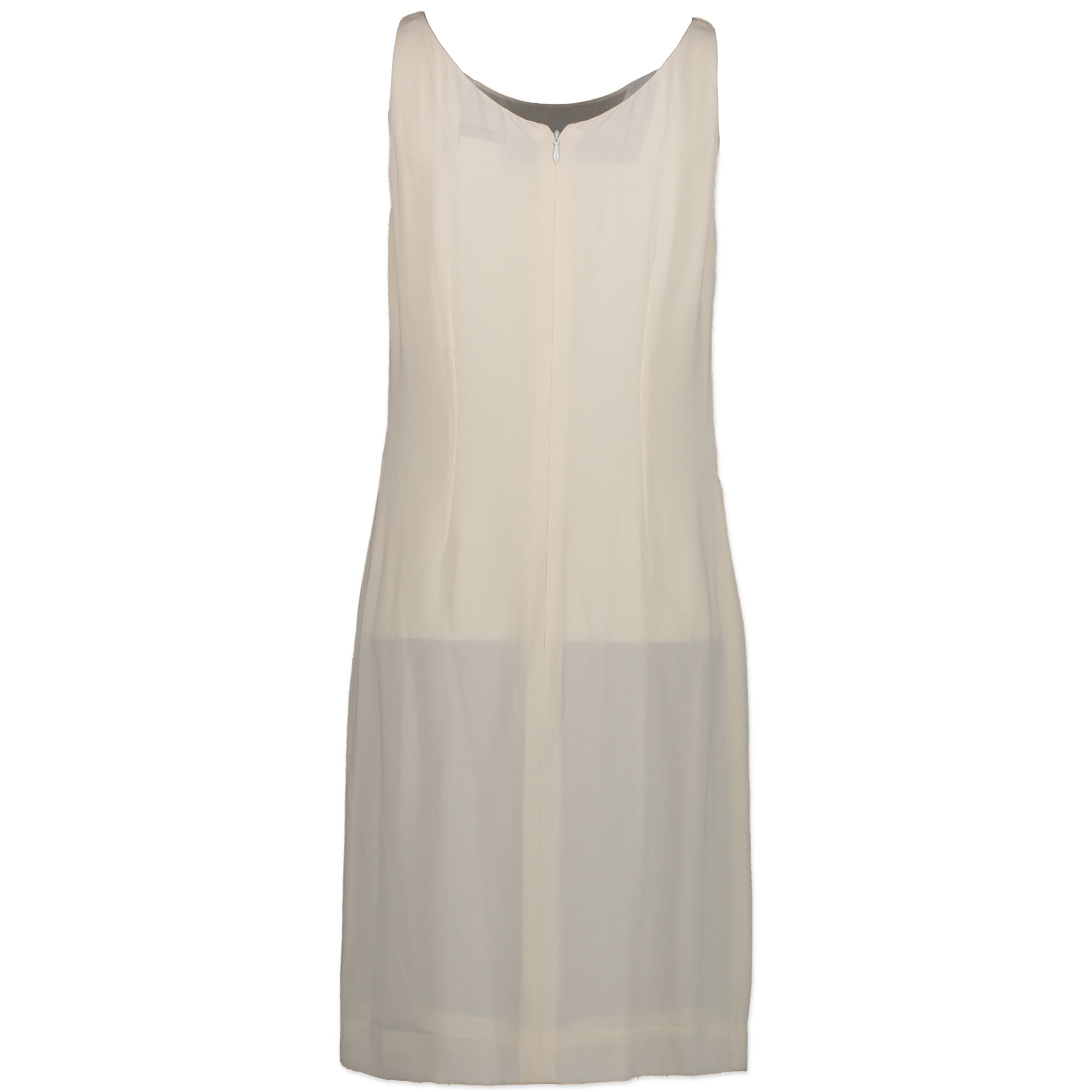 Are you looking for an authentic designer Chanel White Silk Dress for the best price