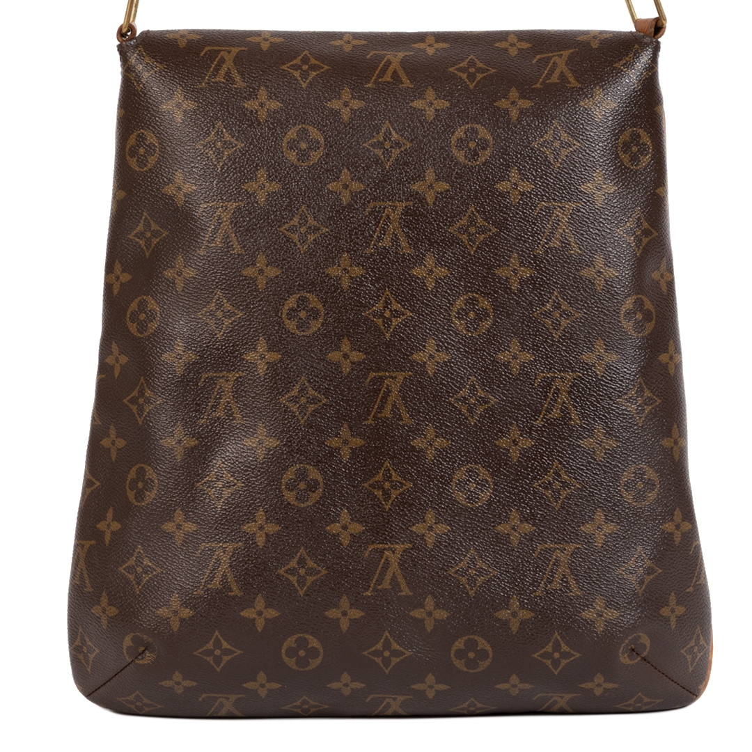 Authentic secondhand Louis Vuitton Monogram Musette Salsa GM Bag safe and secure online shopping fashion designer bags luxury louis vuitton bags vintage webshop online