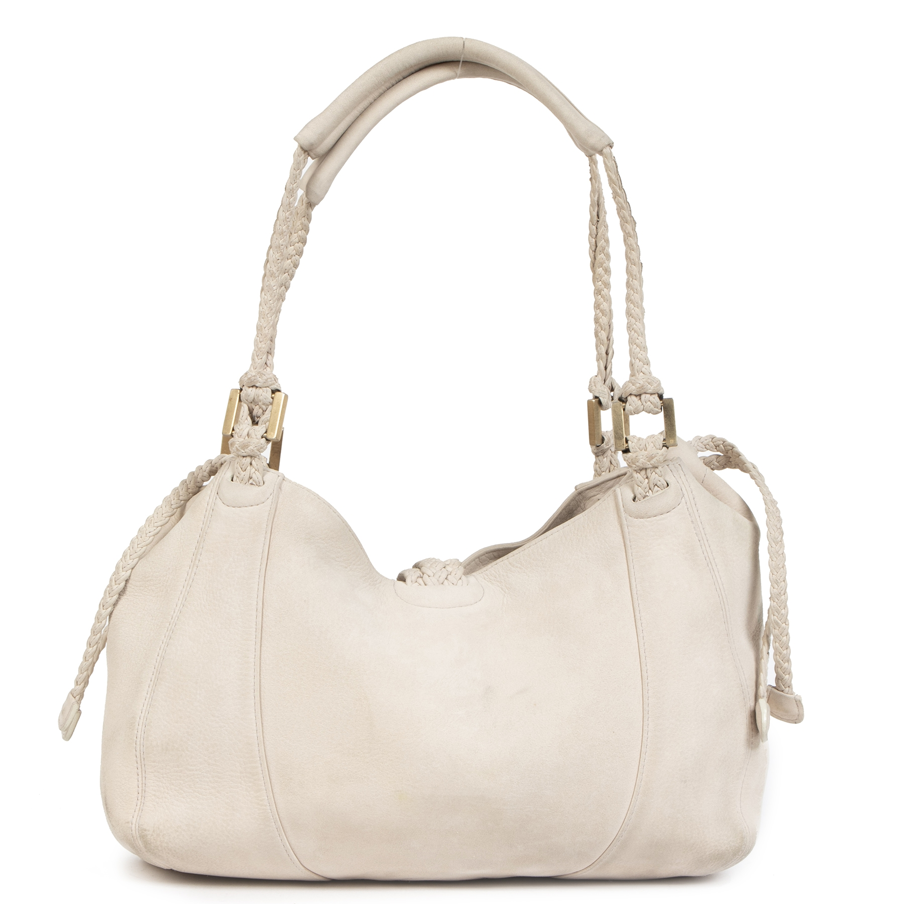 Authentic secondhand Delvaux Le Eugène Cream Santiag Leather Bag designer bags luxury vintage webshop fashion safe secure online shopping worldwide shipping