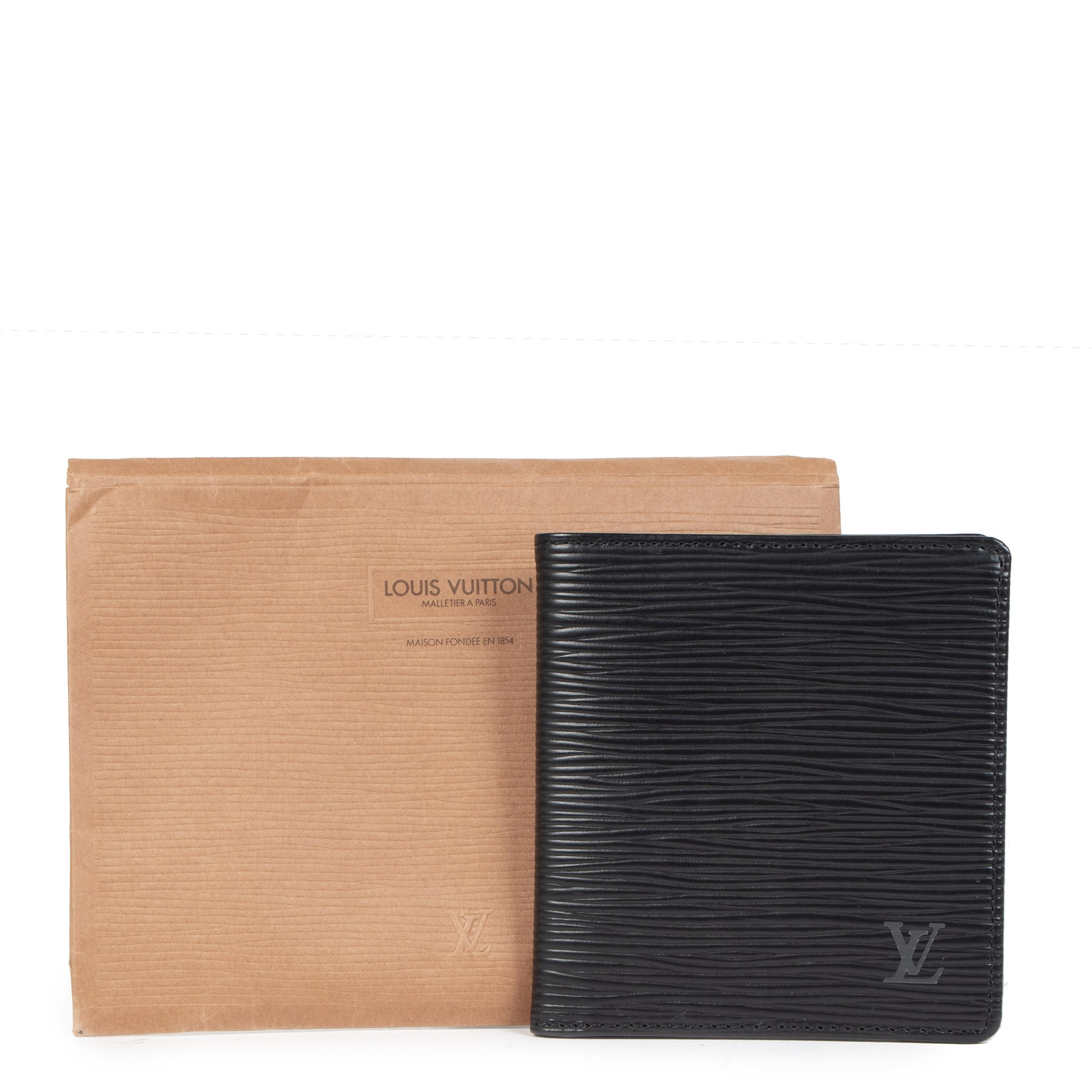 Are you looking for an authentic  Louis Vuitton Black Epi Leather Wallet ?